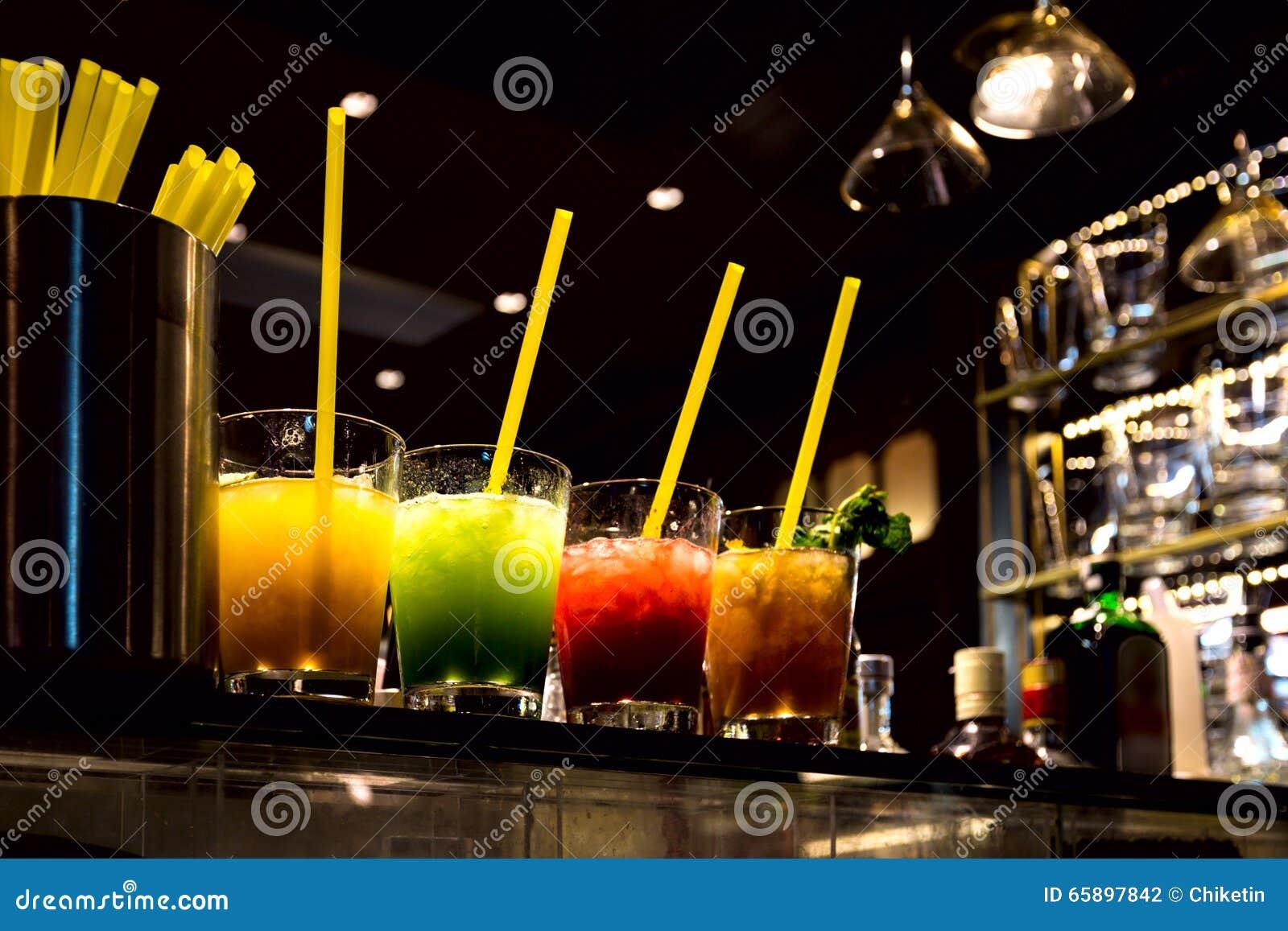 Multi Colored Shot Glasses