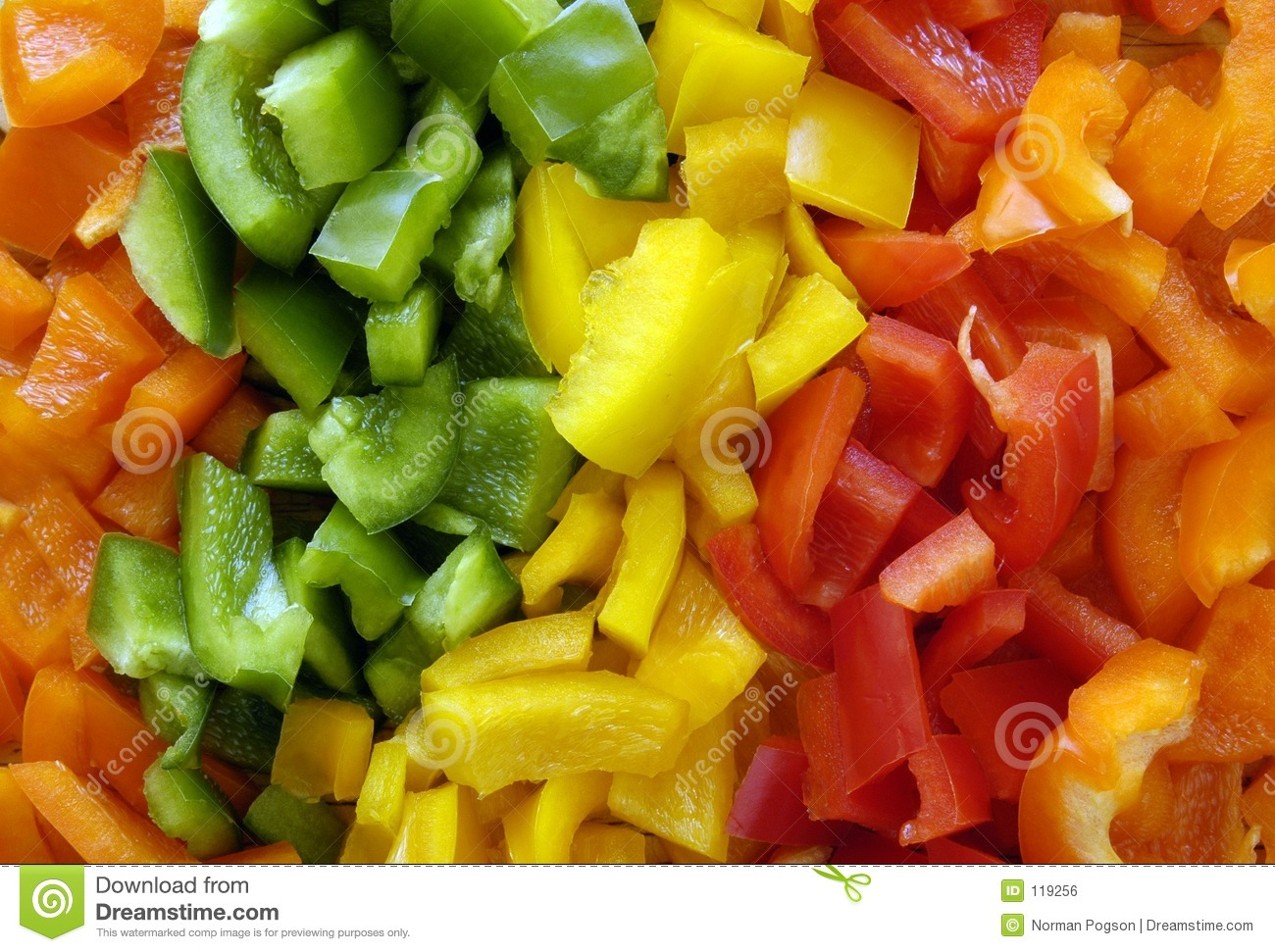 Download Multi Colored Peppers (Background) Stock Photo - Image of scrapbook, farmers: 119256