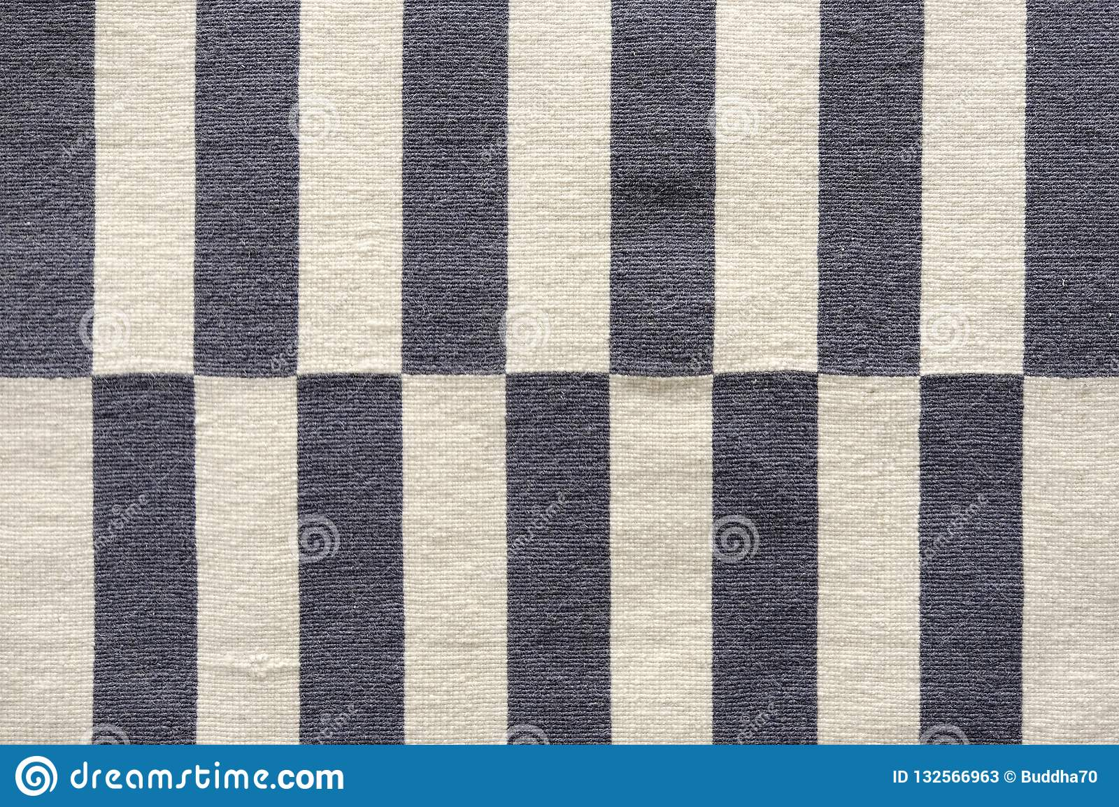 Multi-colored stripes on the fabric. Colorful traditional Peruvian style, close-up rug surface