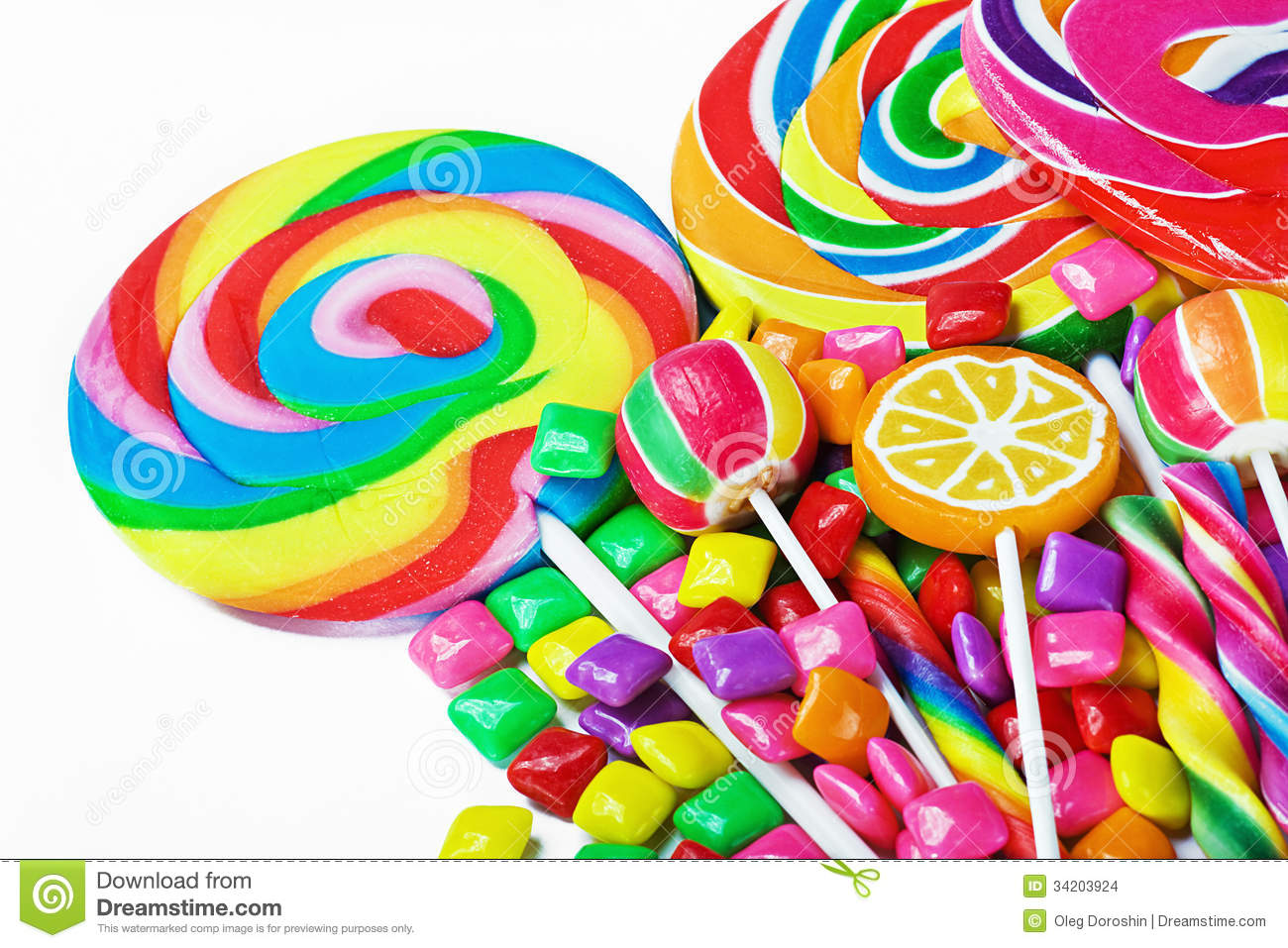 colorful sweets wallpaper