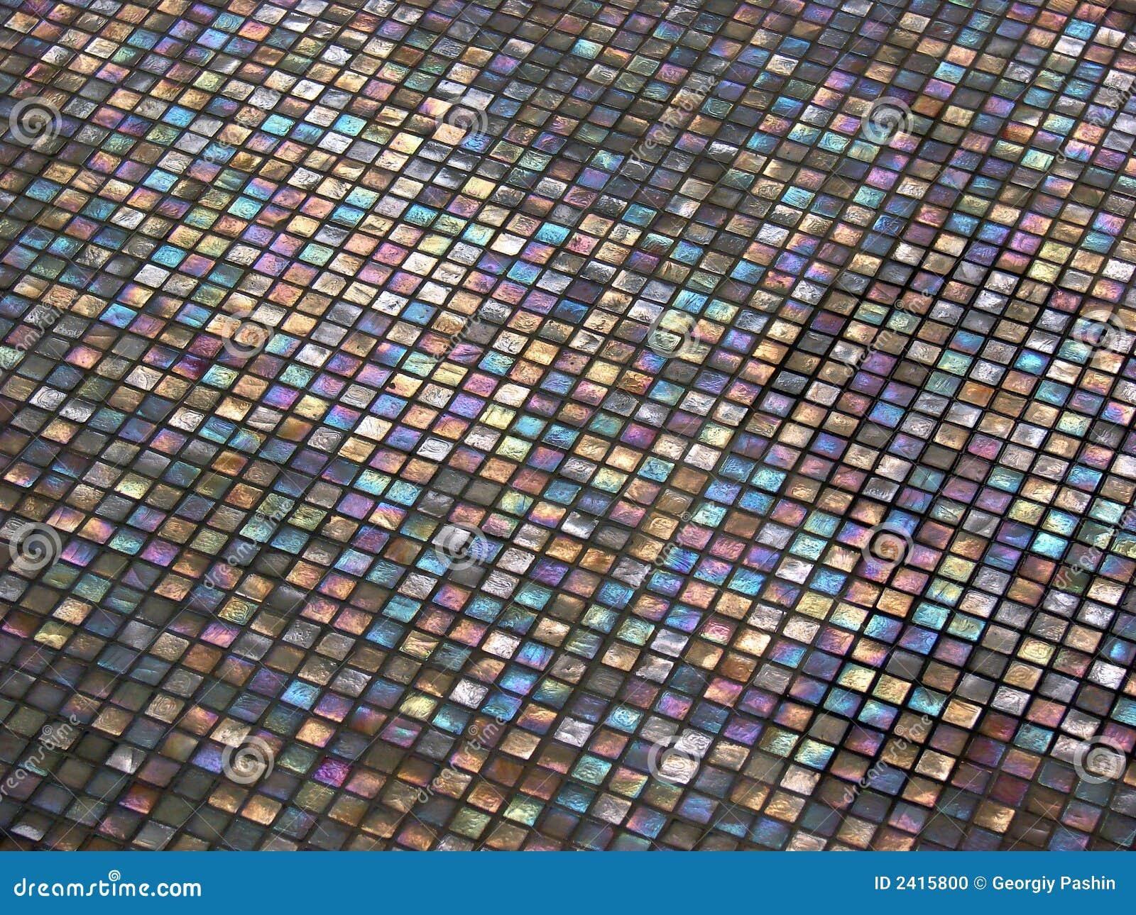 Multi Colored Tile Stock Photo Image 2415800