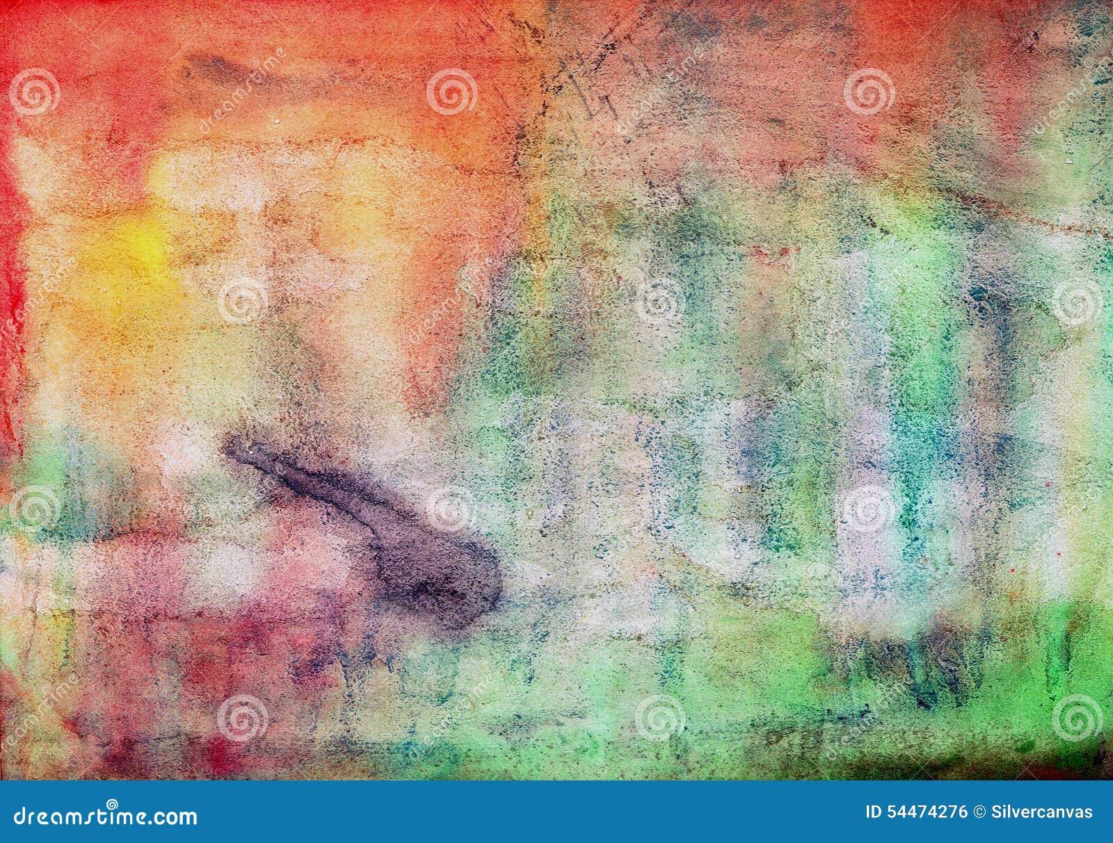 Multi colour paint texture background