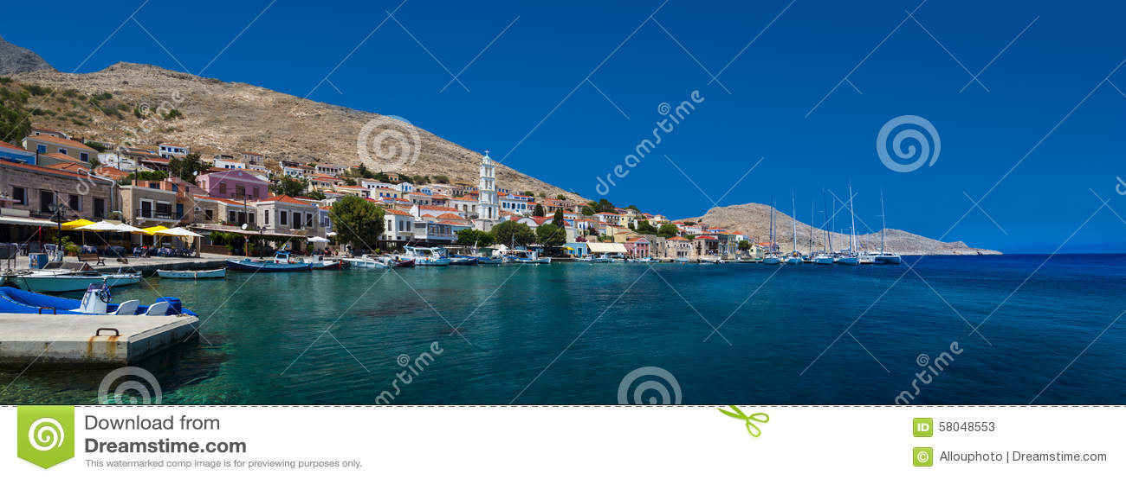 Halki Island Greece Map