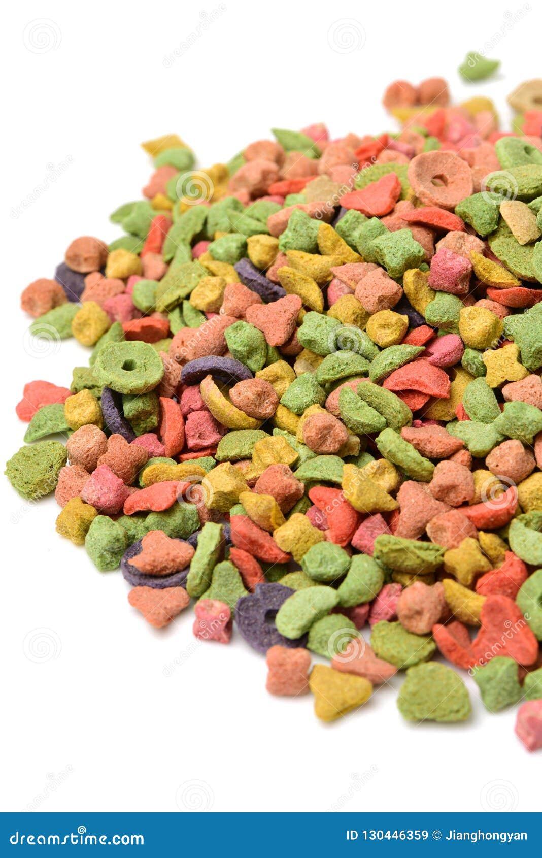 Multi da comida de gato colorido