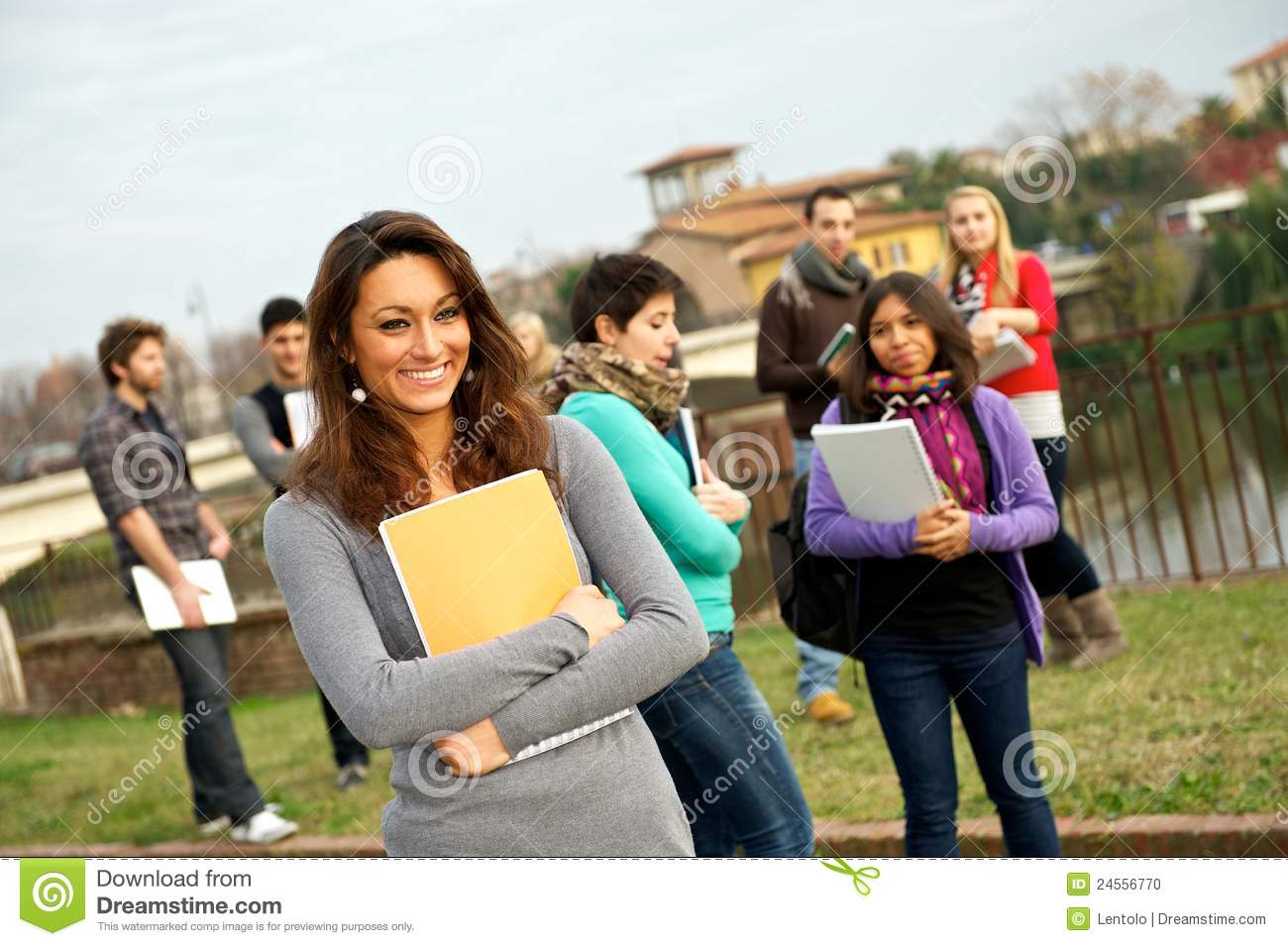 Multi-Ethnic college Students