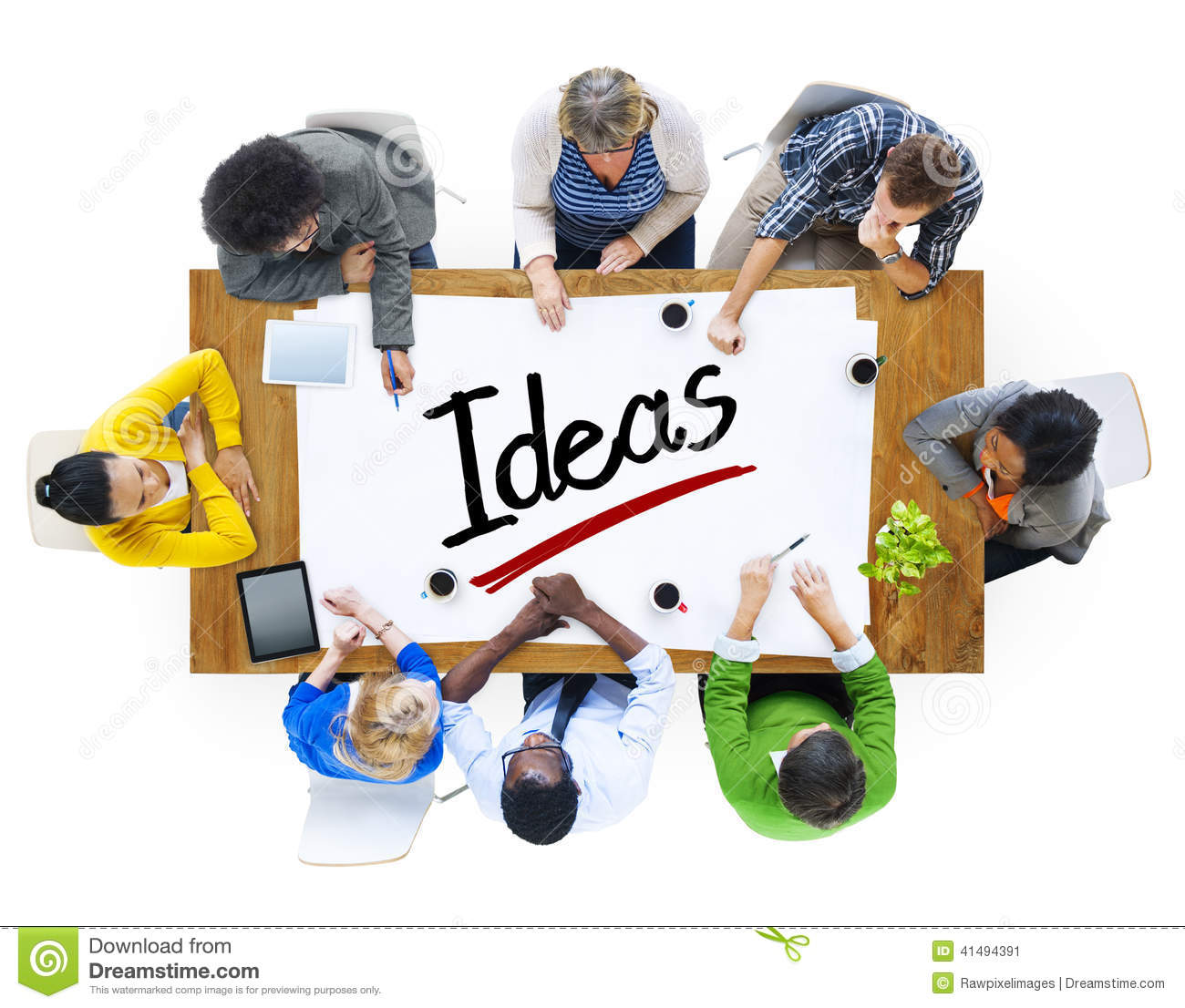 Global People Discussion Meeting Creativity Ideas Concept Stock ...