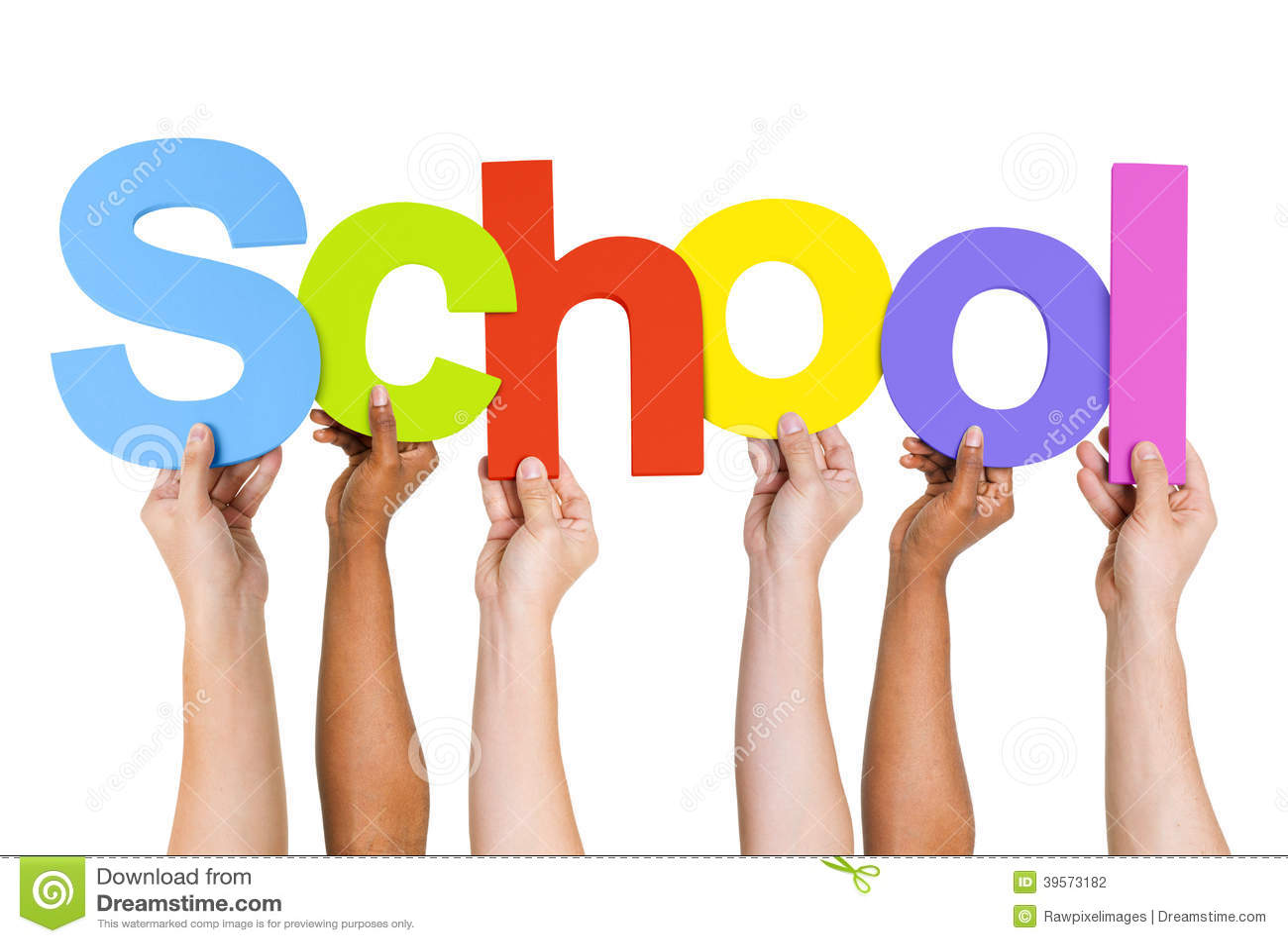 Word School Stock Photo - Image: 84064621