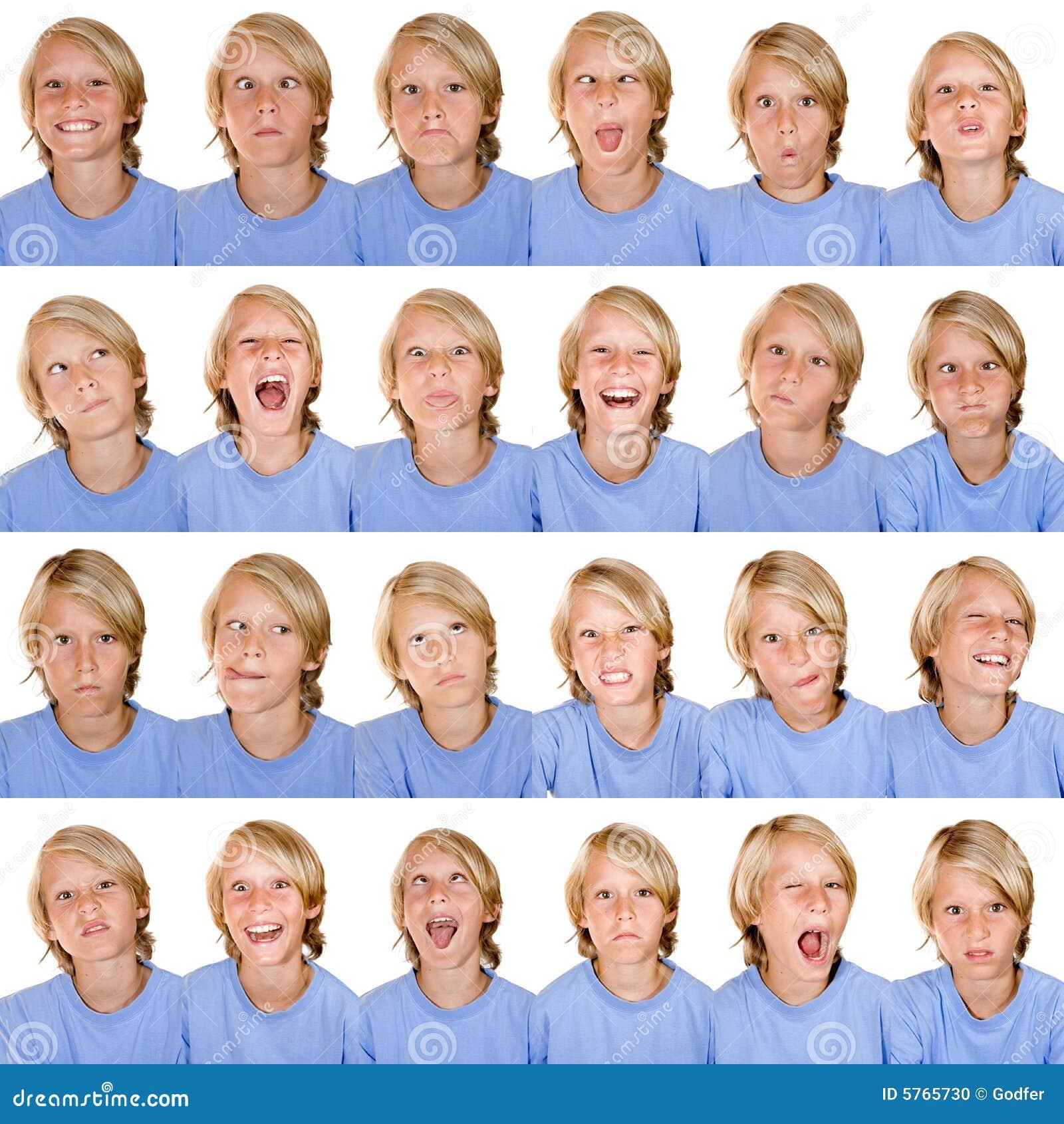 Multi expressões faciais