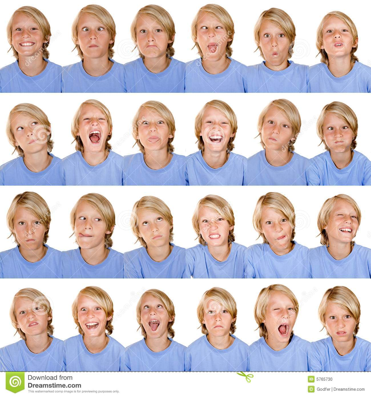Multi facial expressions