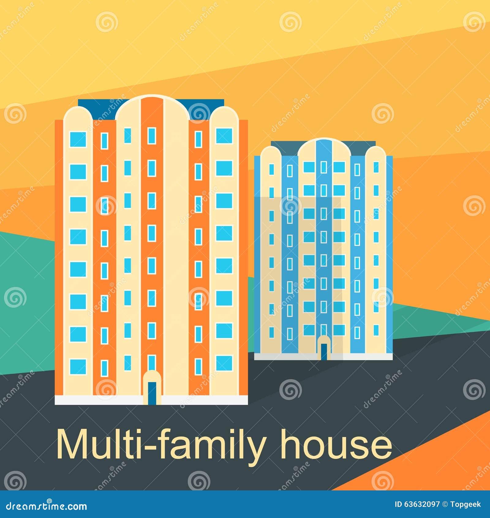 100 multi family home design modular homes luxury 3780 multi family home design multi family house design flat stock vector image 63632097