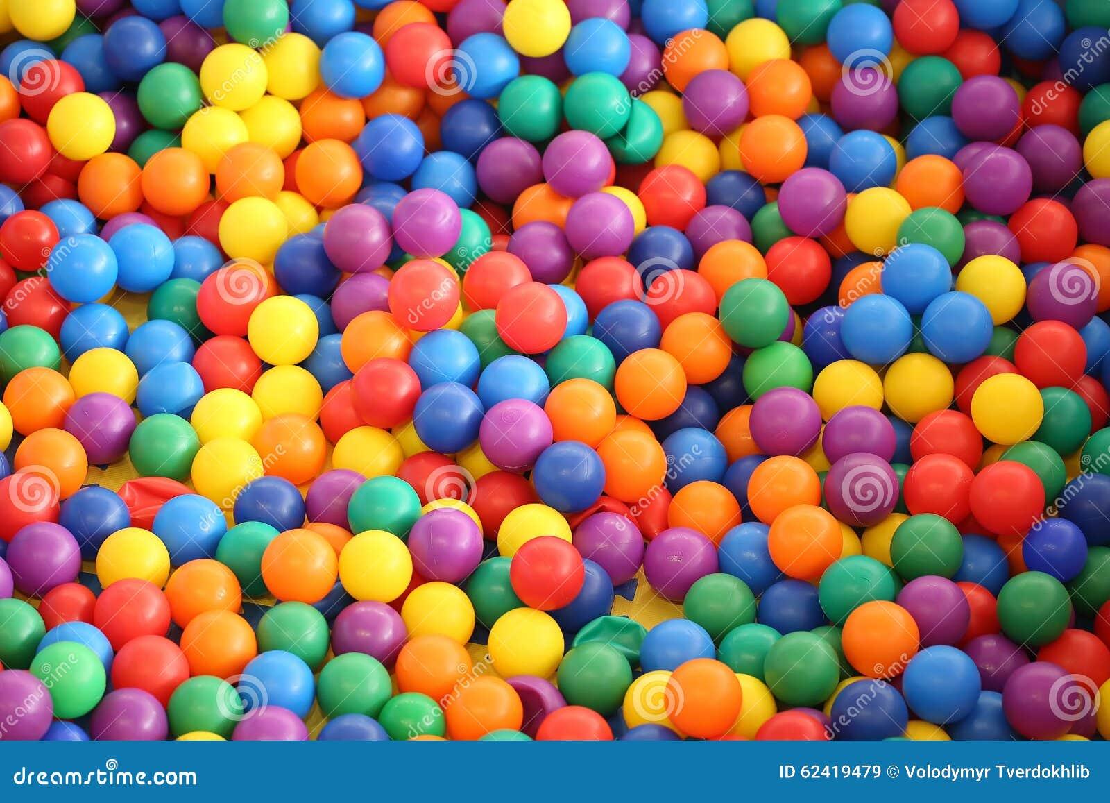 Multi farbige helle Plastikbälle