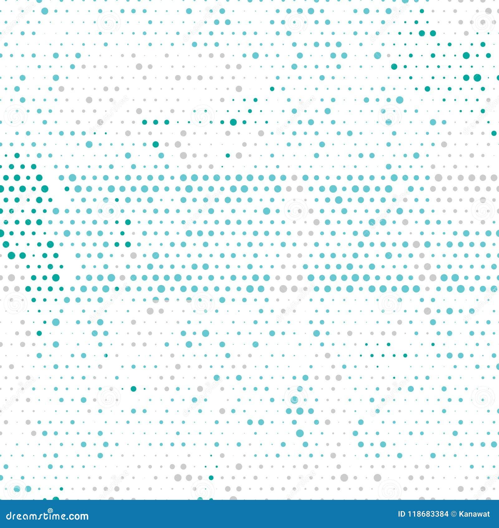 Multi fundo geométrico colorido do sumário do círculo do vetor Molde pontilhado da textura Teste padrão geométrico no estilo de i