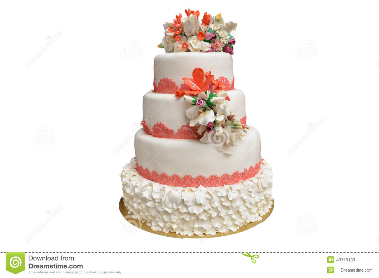 Buy Wedding Cake Stamps