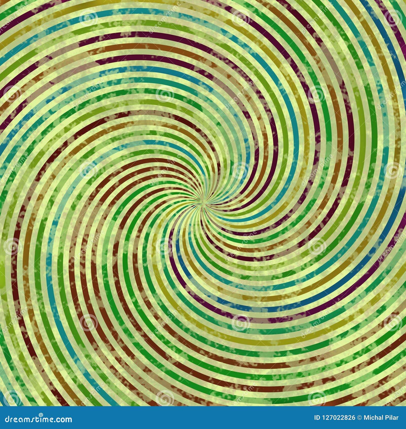 Multicolor текстура свирли, абстрактная предпосылка с маленькими линиями на свирли