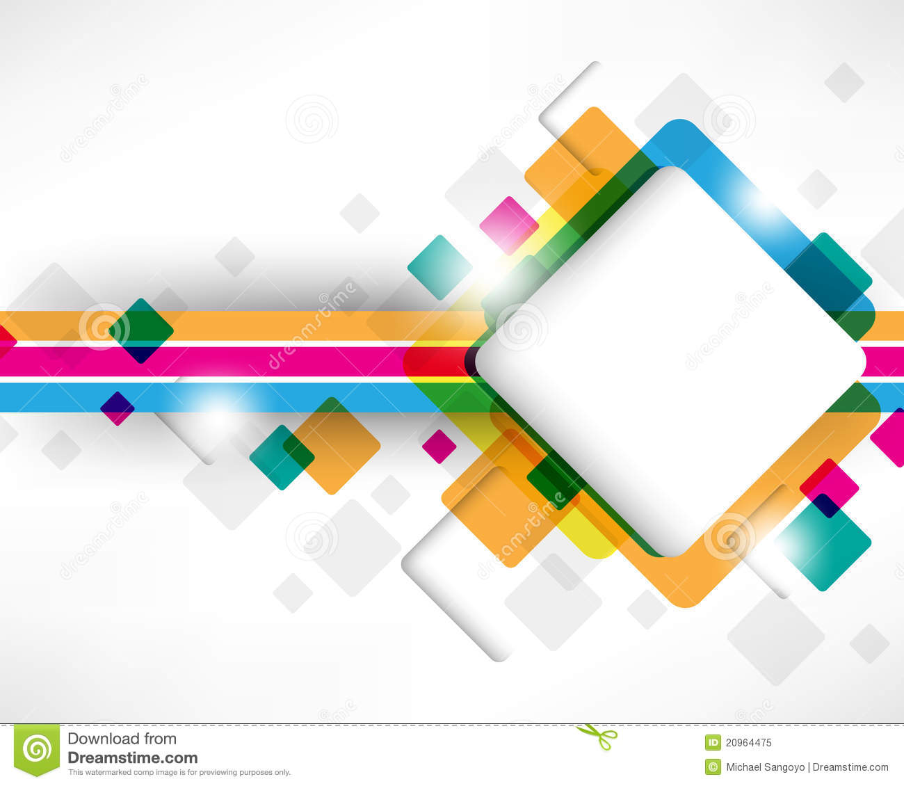 Multicolor Box Square Design Royalty Free Stock Photo - Image ...