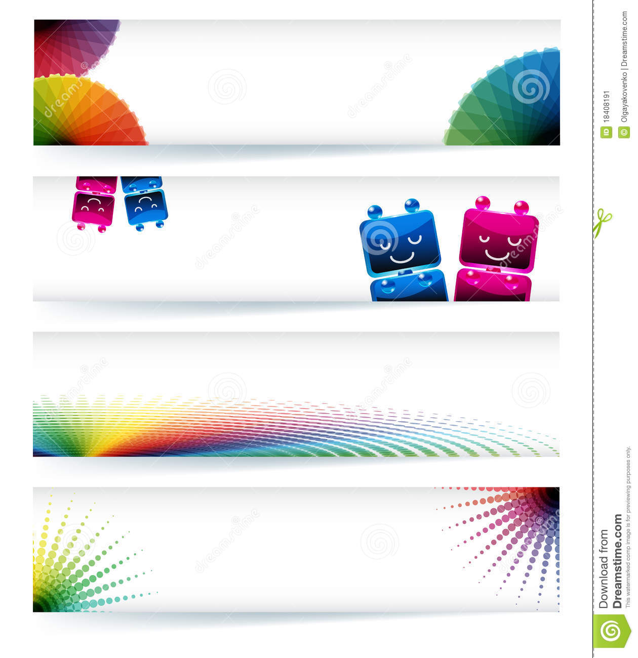 More similar stock images of ` Multicolor gamut banner design `