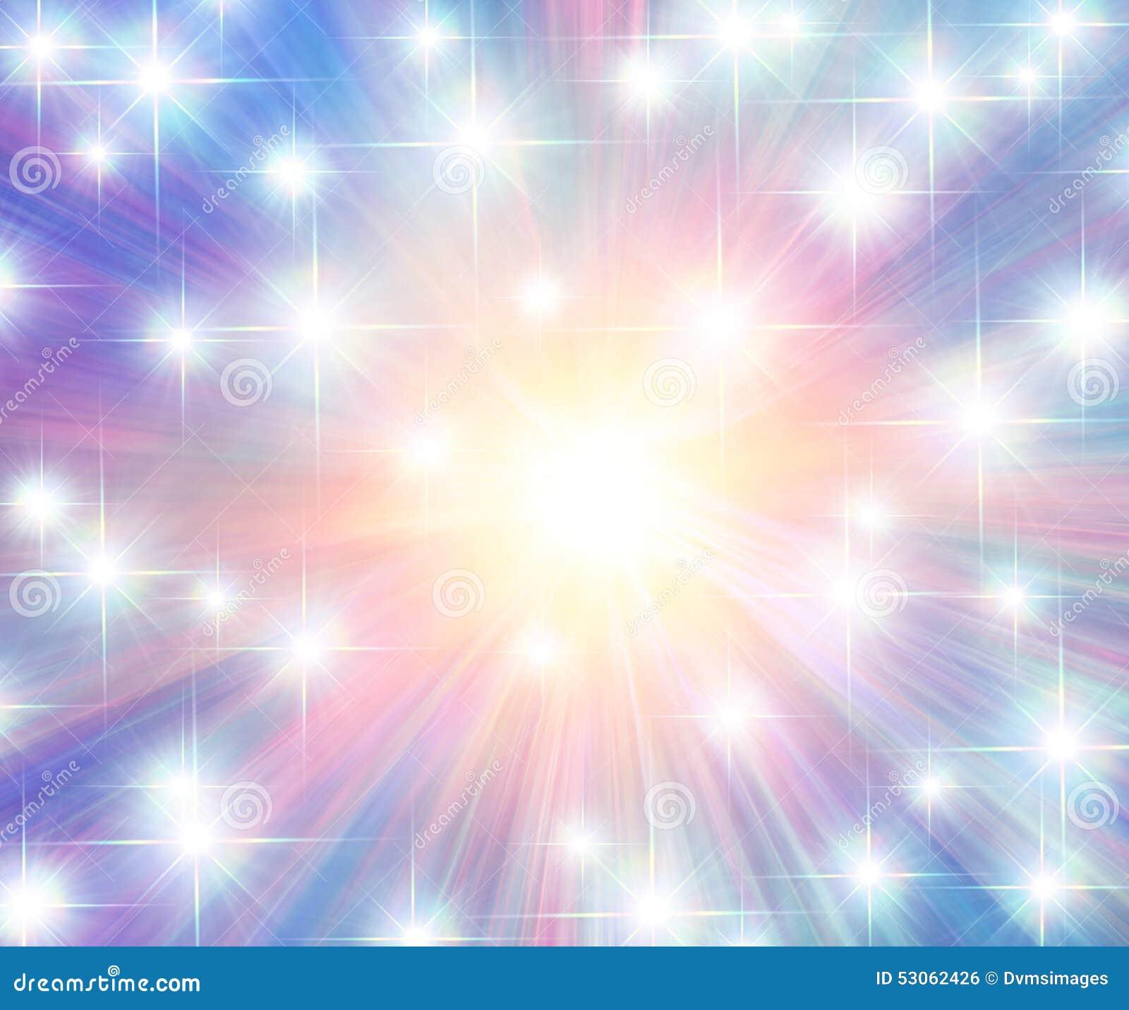 Multicolor Jarzy się promienie i gwiazdy