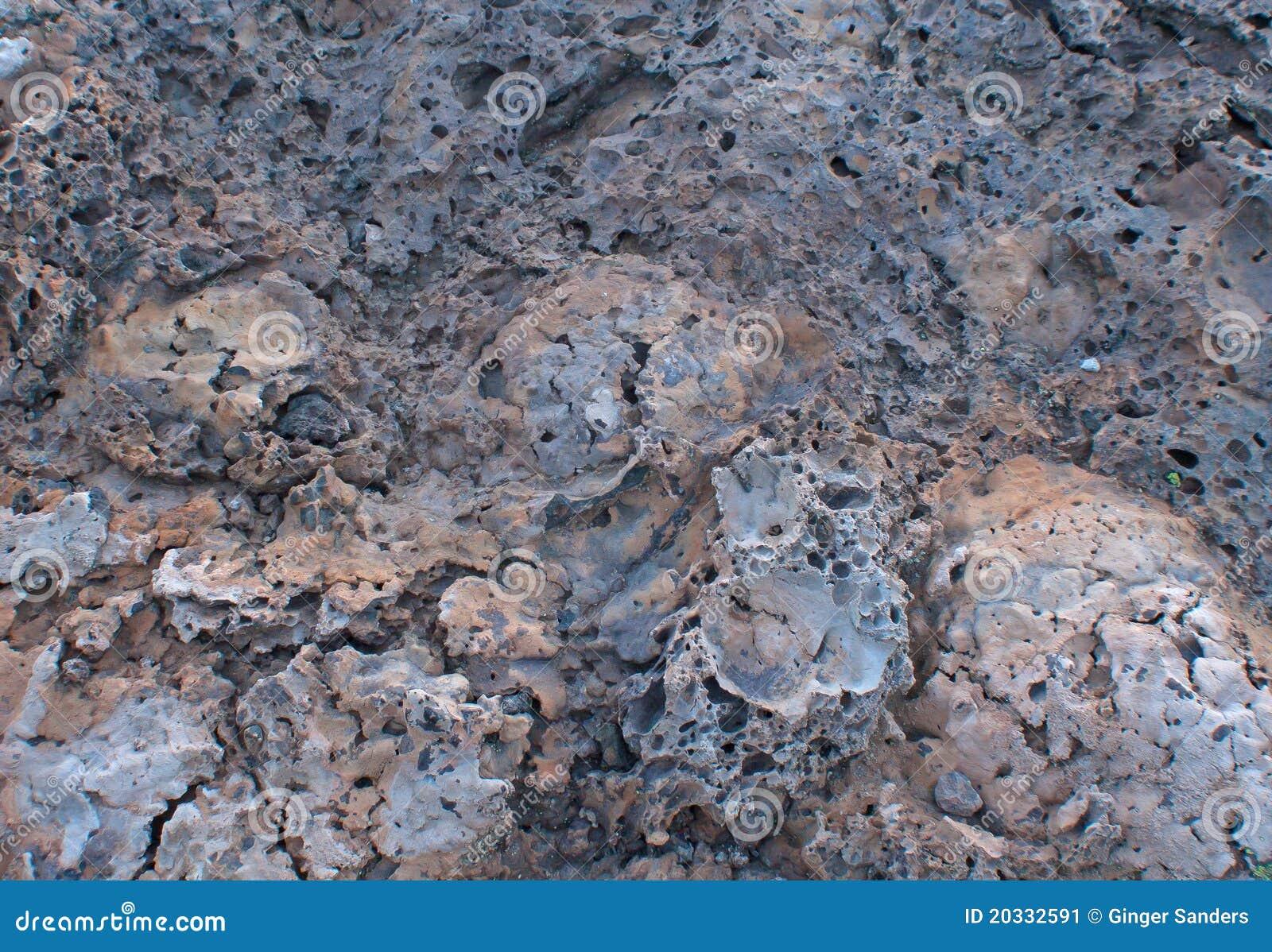 Multicolor Lava Tufa Rock Background