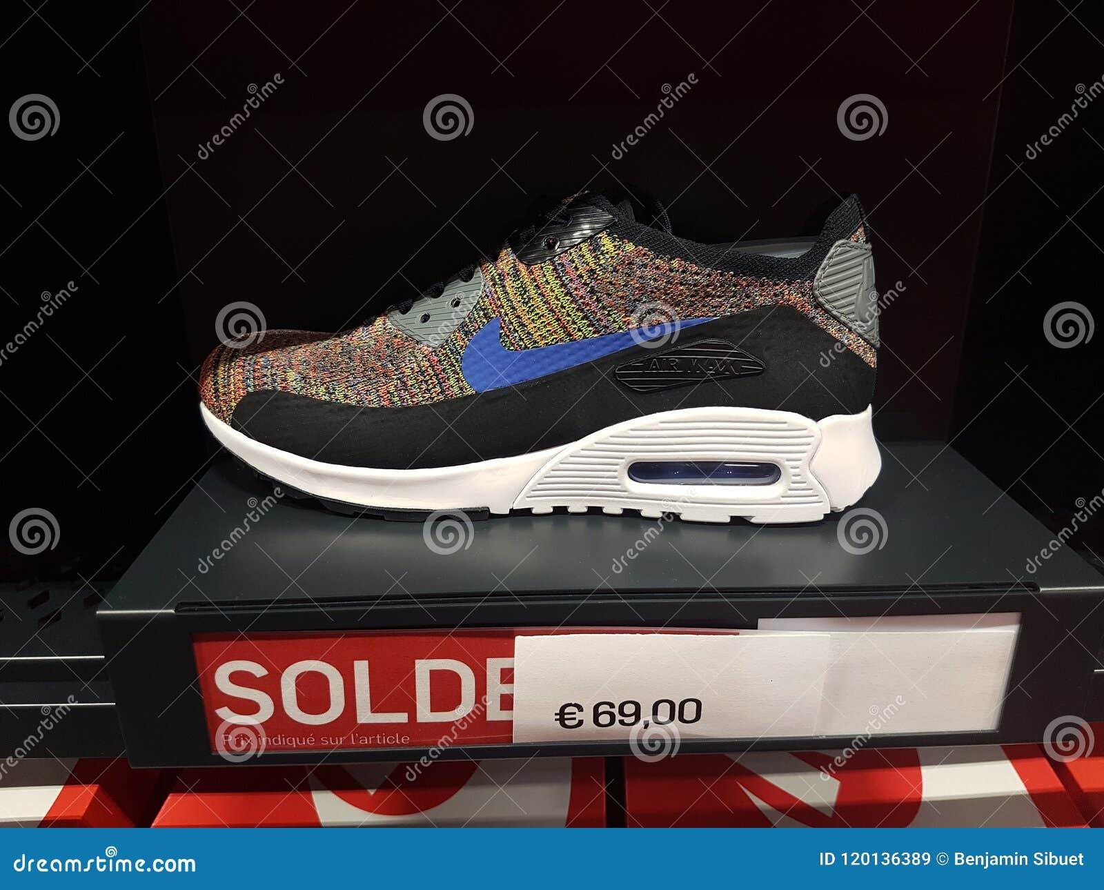 Nike Shoes Display Stock Photos & Nike Shoes Display Stock