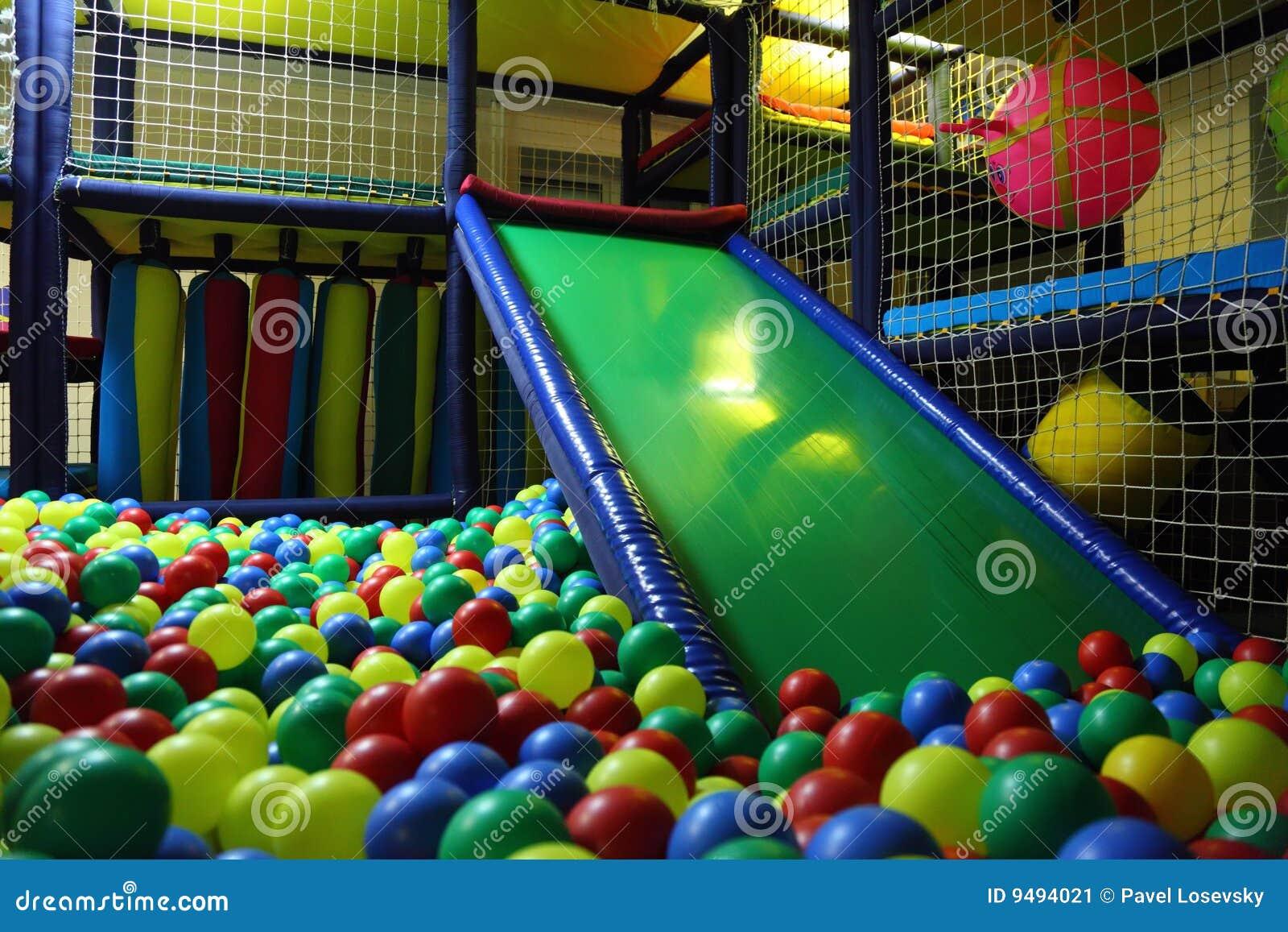 Multicolor playroom s för bollbarn