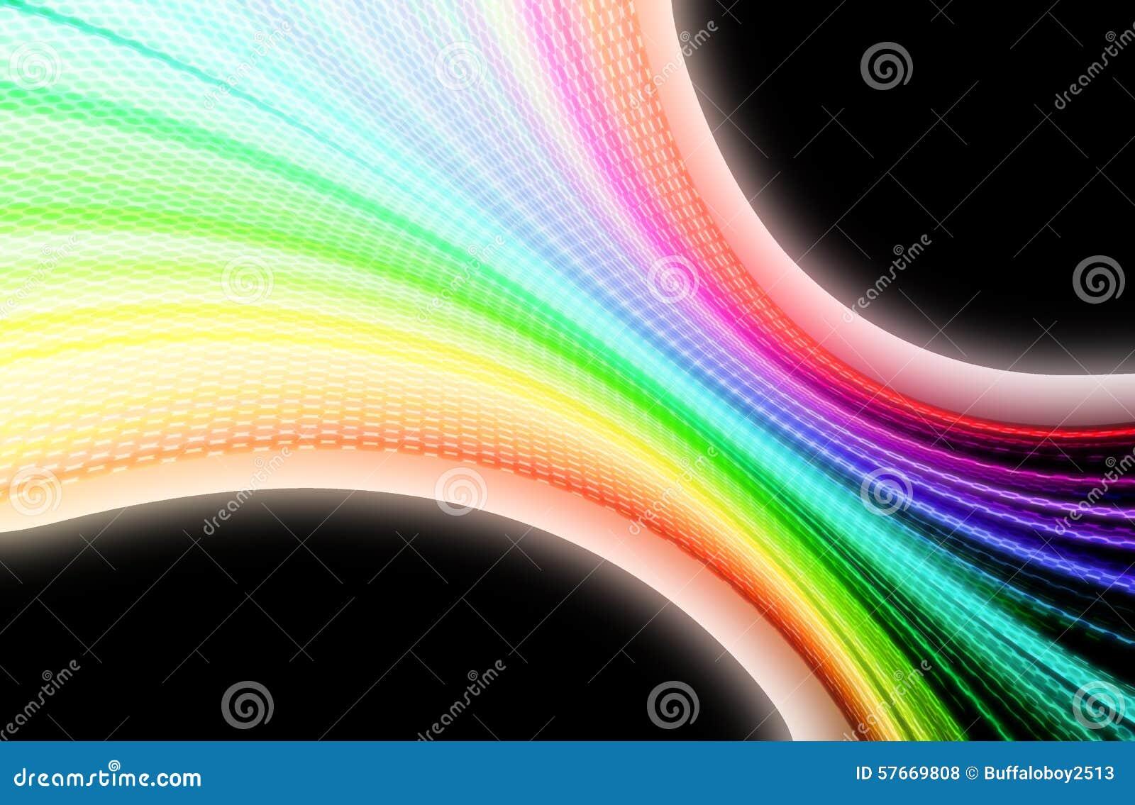 Multicolor tło