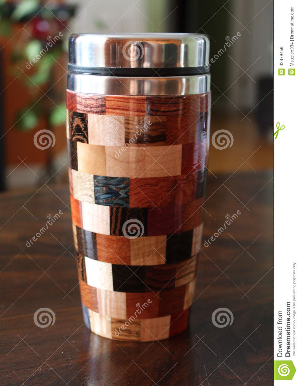 Multicolor Travel Mug Stock Photo Image 42479456