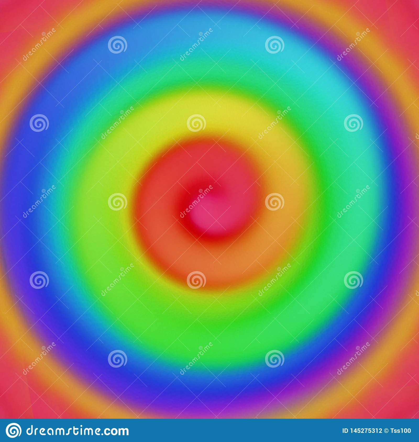 Multicolored abstract hand drawn background