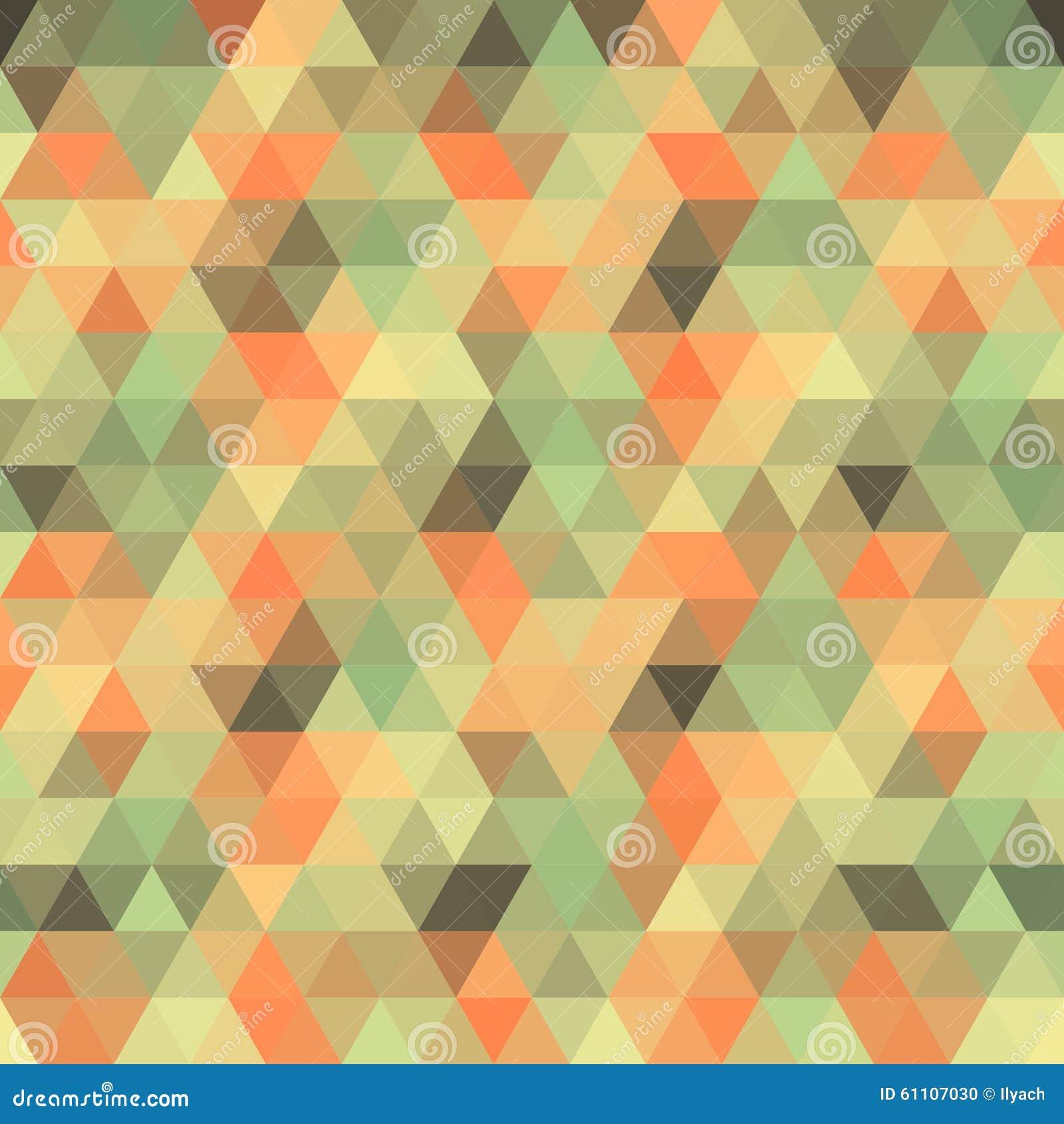 Multicolored Angular Wattled Pattern Background Stock ...