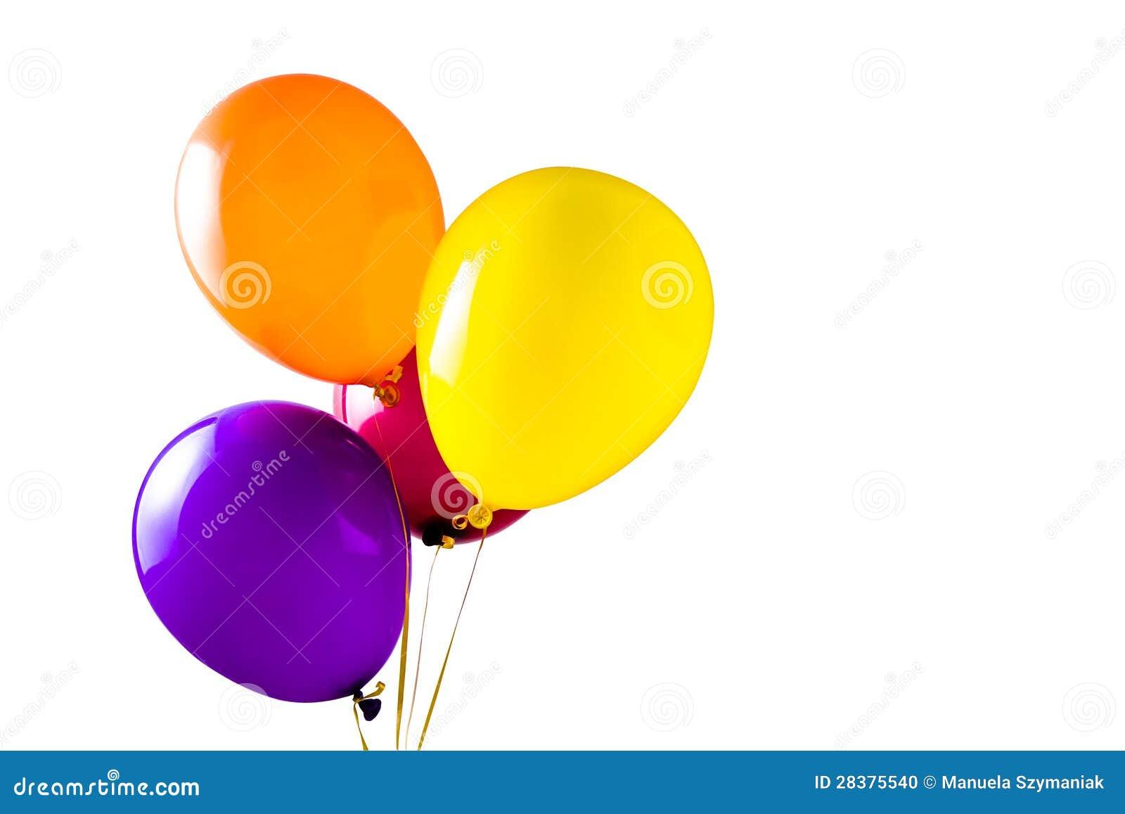 Multicolored ballons