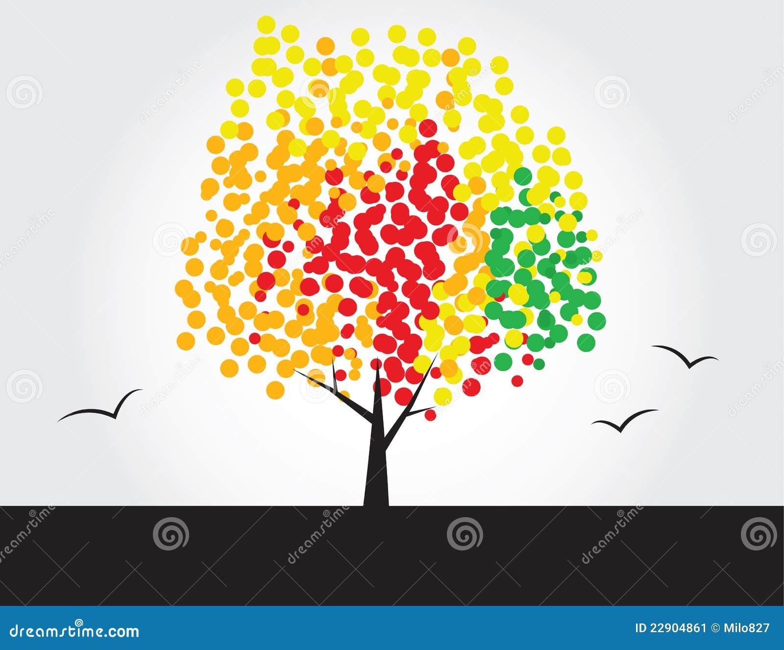 Multicolored boom