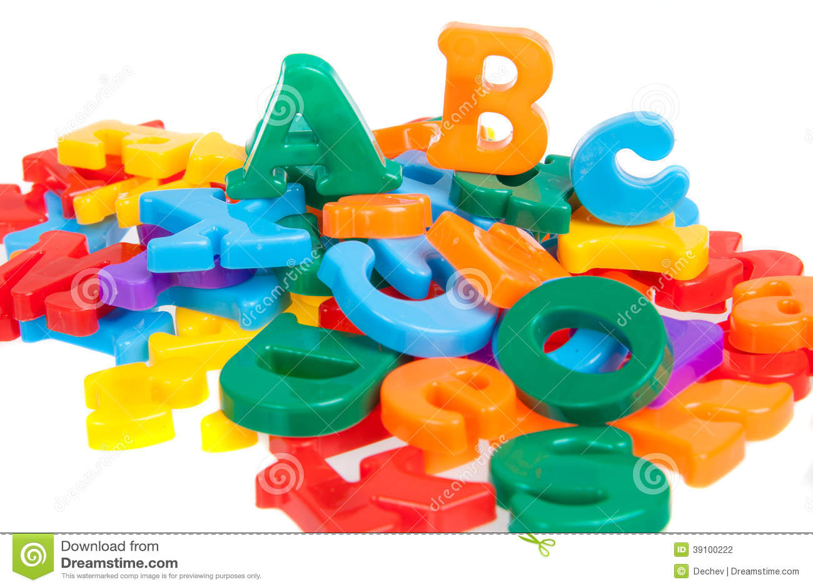Multicolored brieven