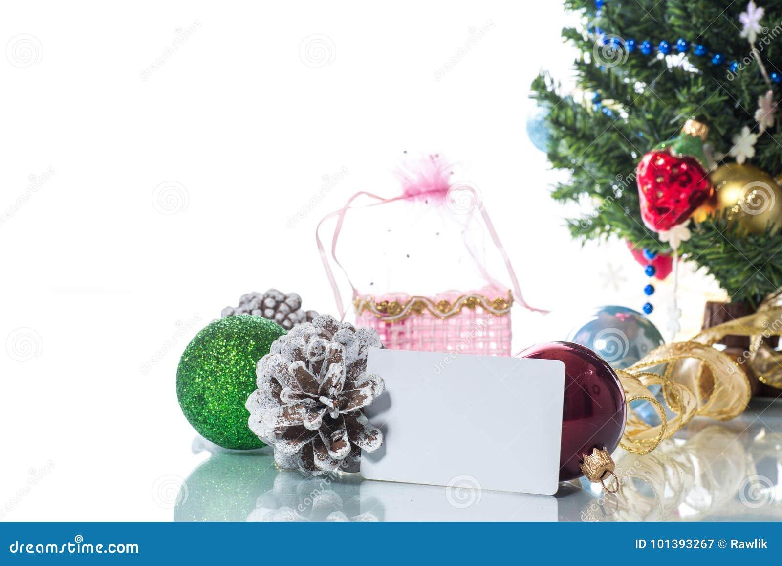 Multicolored Christmas Ornaments