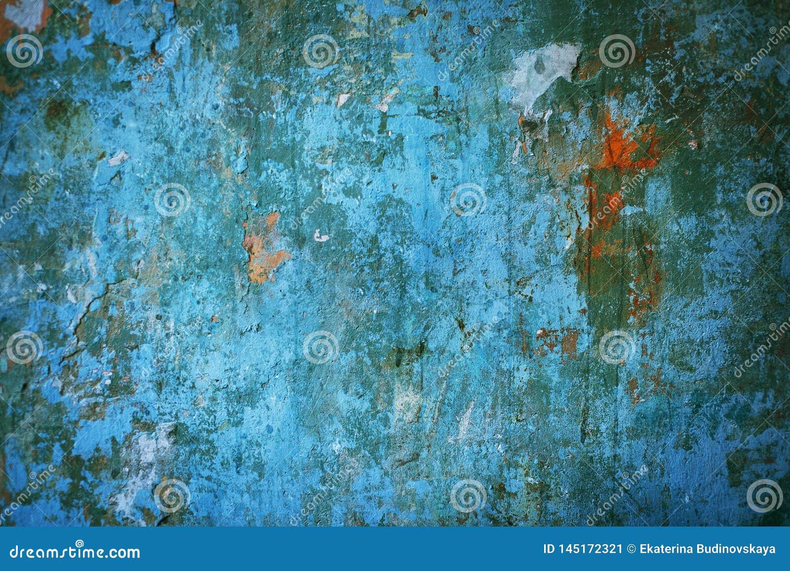 Multicolored concrete background