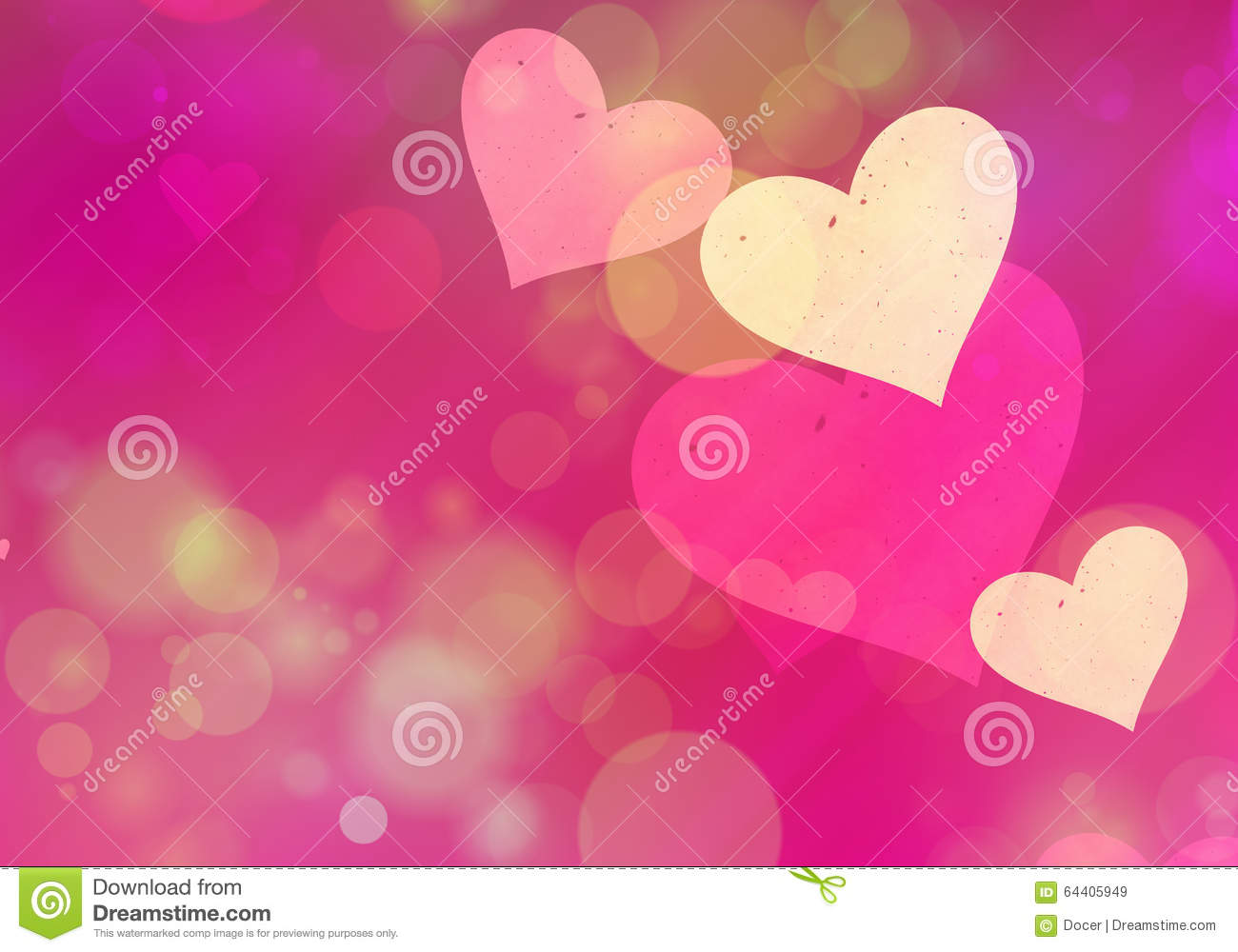 Multicolored hearts bokeh background of a love symbol stock multicolored hearts bokeh background of a love symbol royalty free illustration buycottarizona Image collections