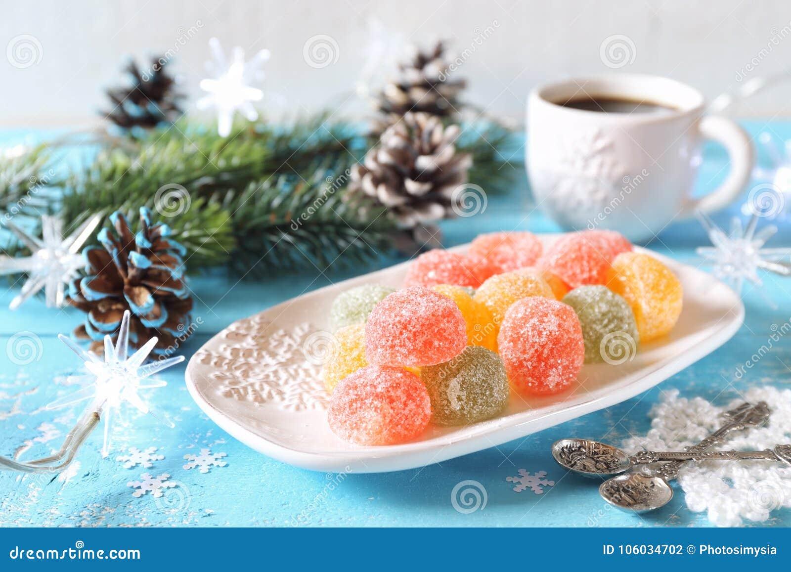 New Year candies: recipe