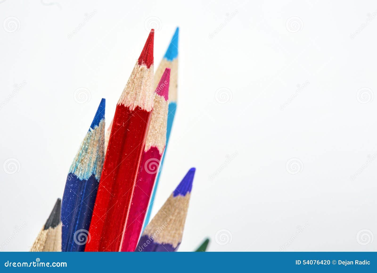 Multicolored kleurpotloden