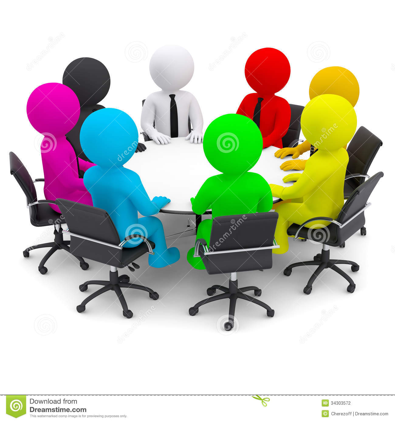 round table clipart. Royalty-Free Stock Photo Round Table Clipart