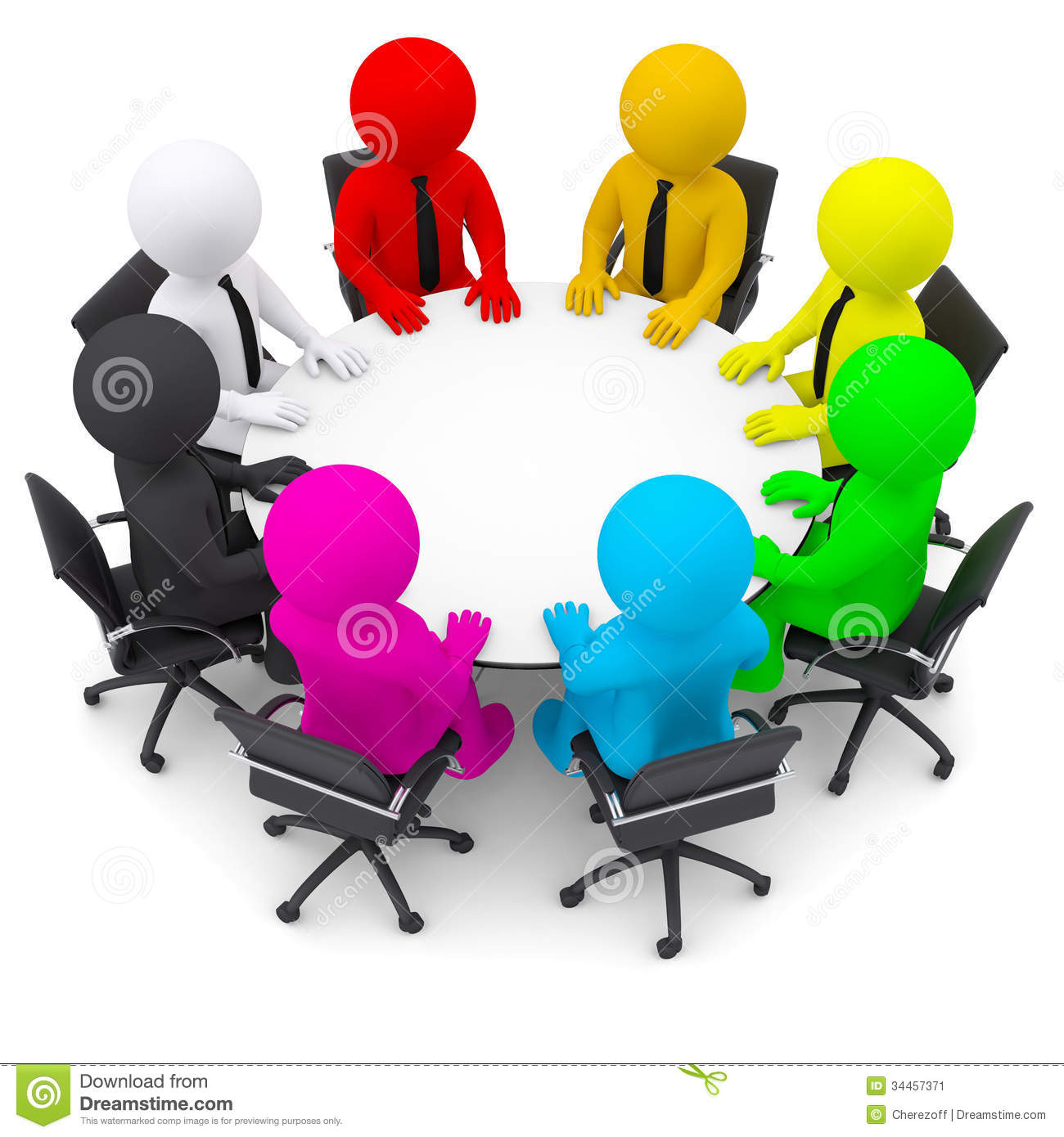 multicolored people sitting at a round table stock image chair clipart chair clipart png