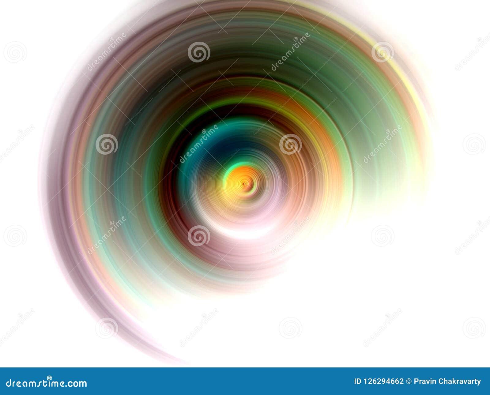 Multicolored radiaal vaag in de schaduw gesteld behang als achtergrond levendige kleuren vectorillustratie