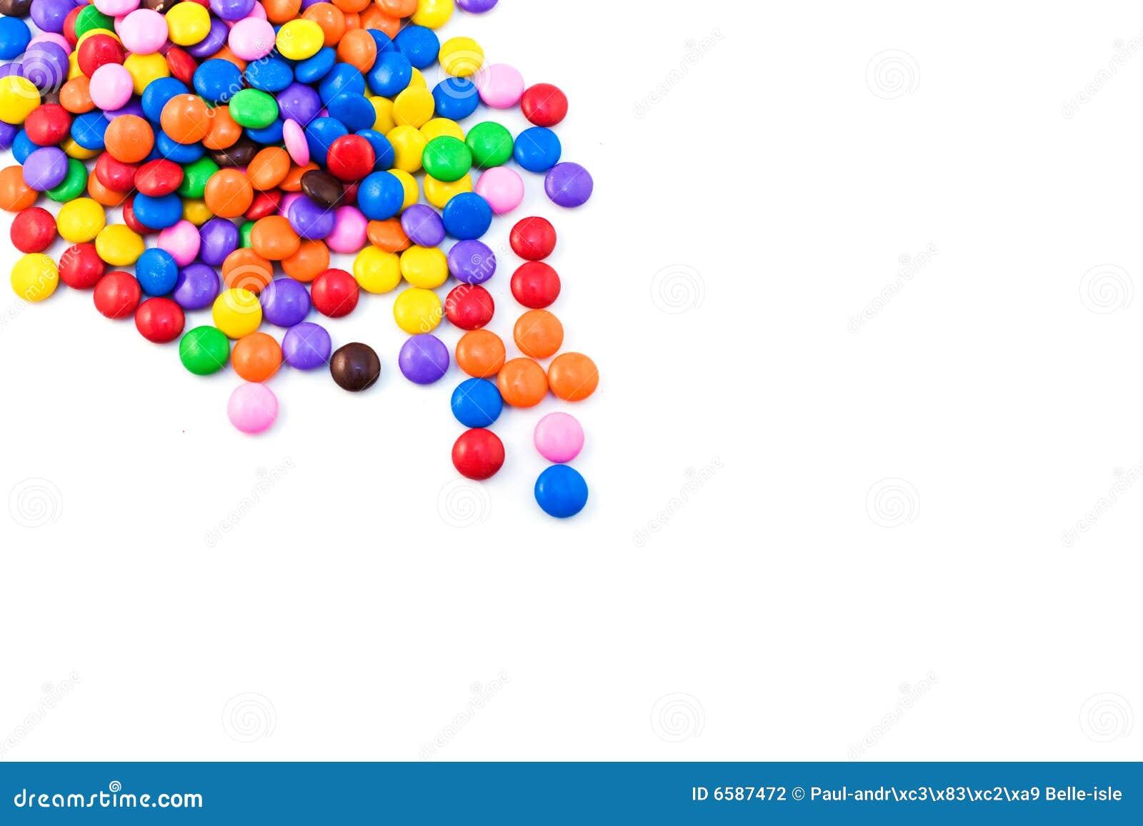Multicolored suikergoed