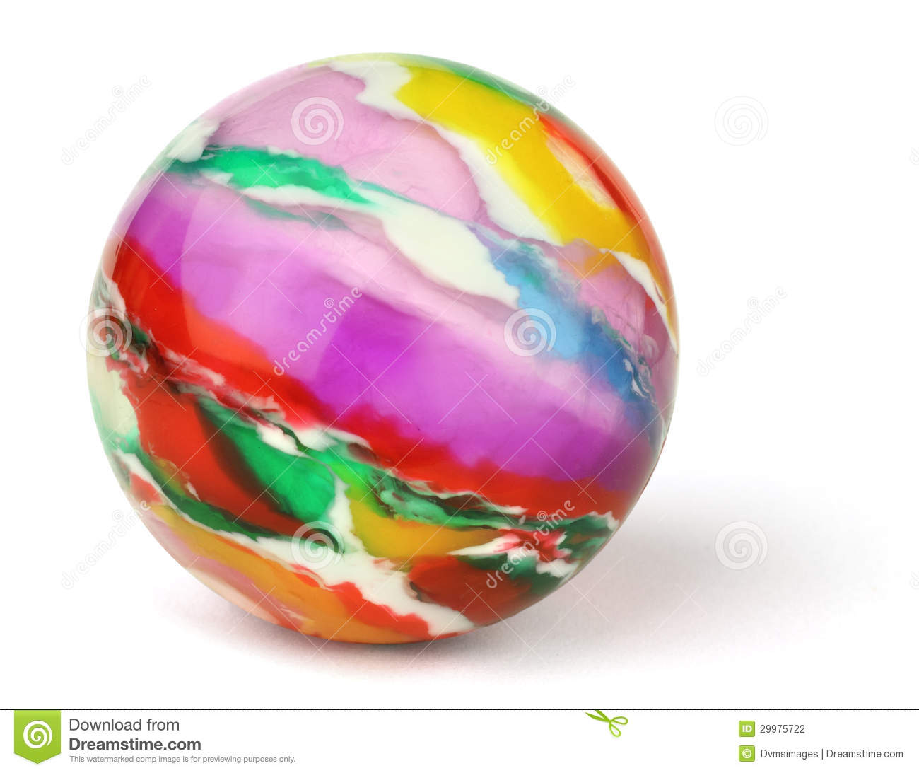 Toy Rubber Balls : Toy ball stock photography image