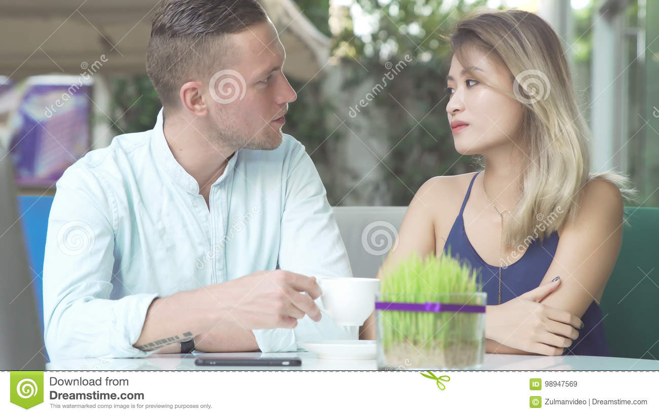 Caucasian and asian dating