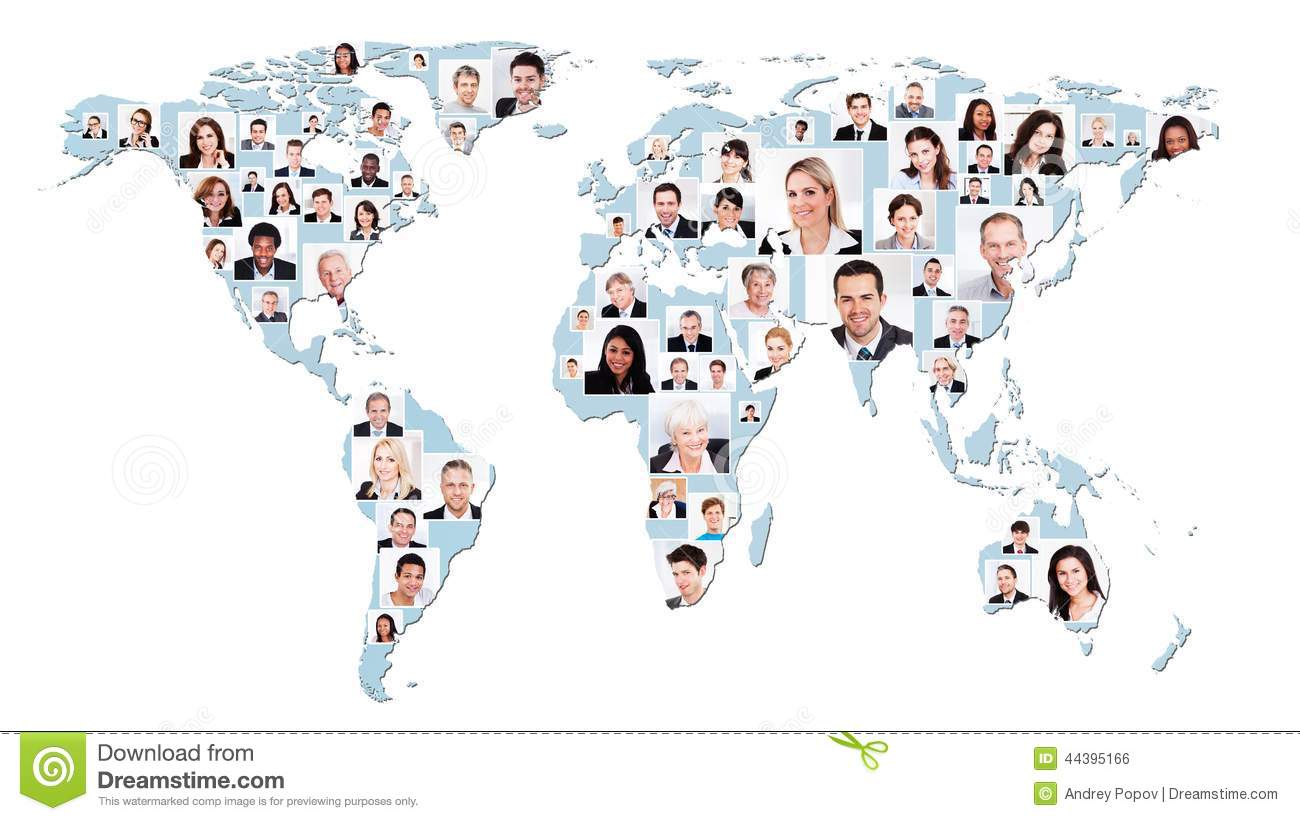 People world map stock photos royalty free images gumiabroncs Images