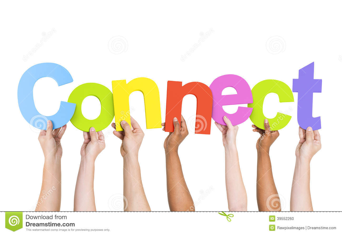 multiethnic people holding word connect stock photo clip art welcome clip art welcome