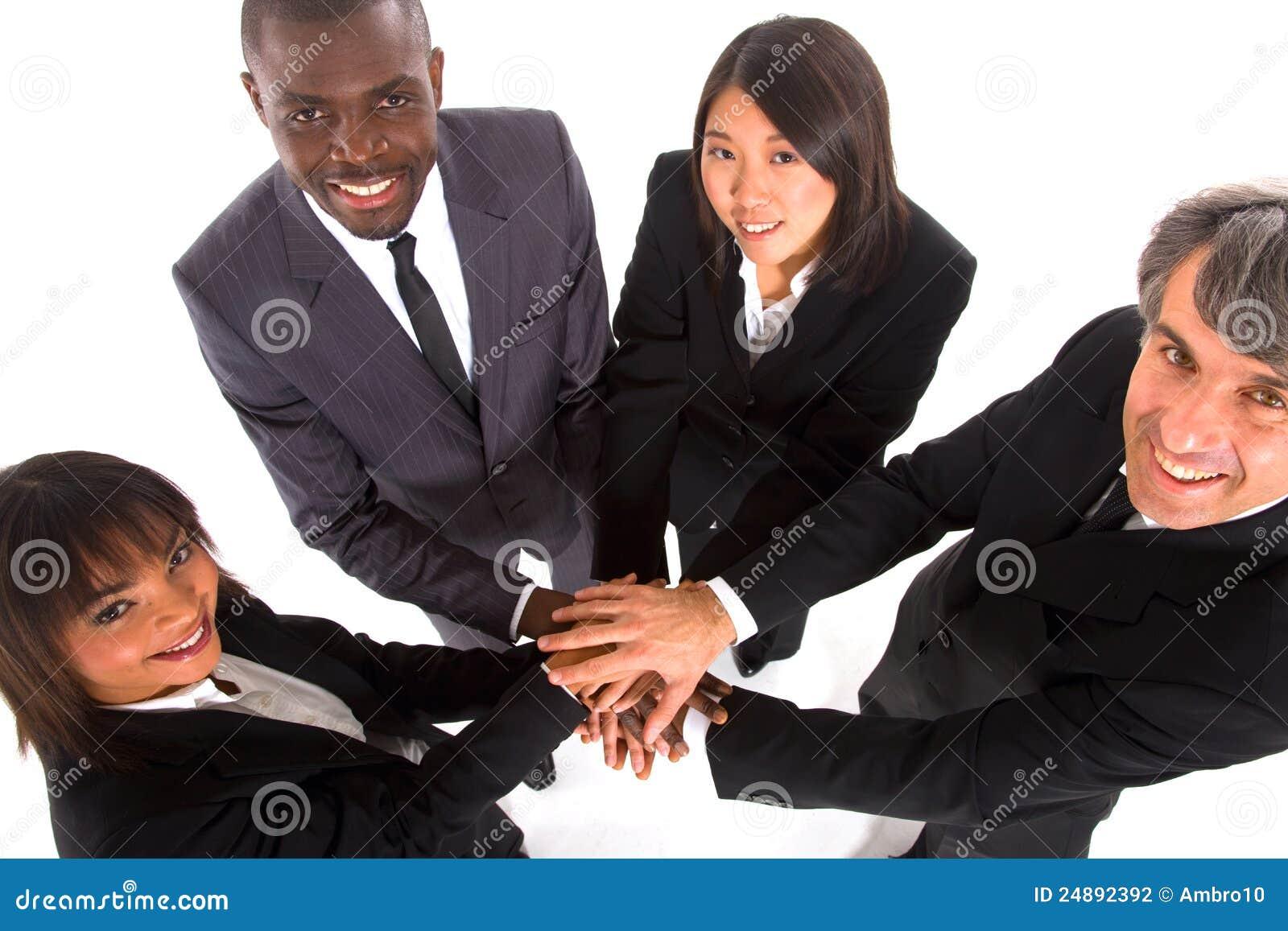 Multiethnisches Team