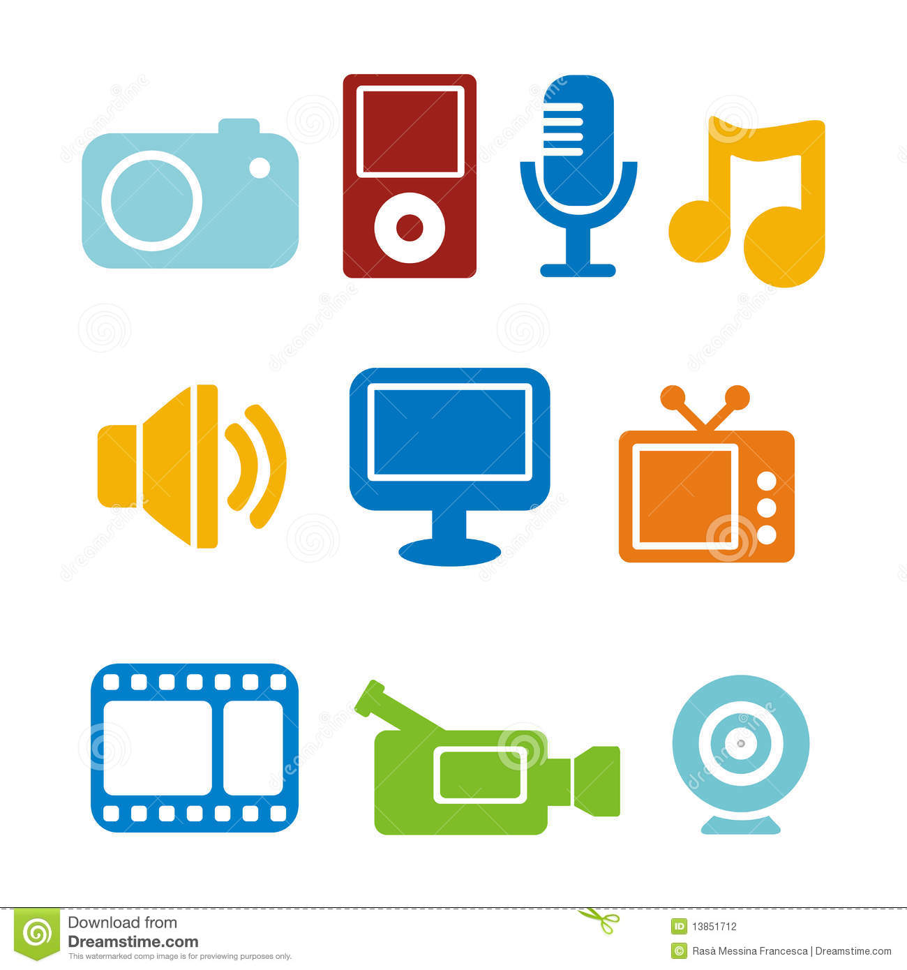 multimedia icons stock vector image of multimedia free clipart camera picture free clipart camera picture