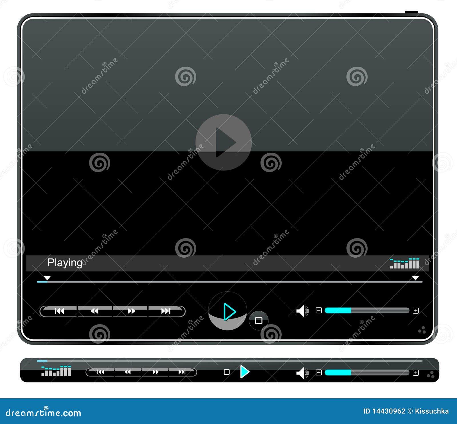 Multimedia-Spielerschnittstelle