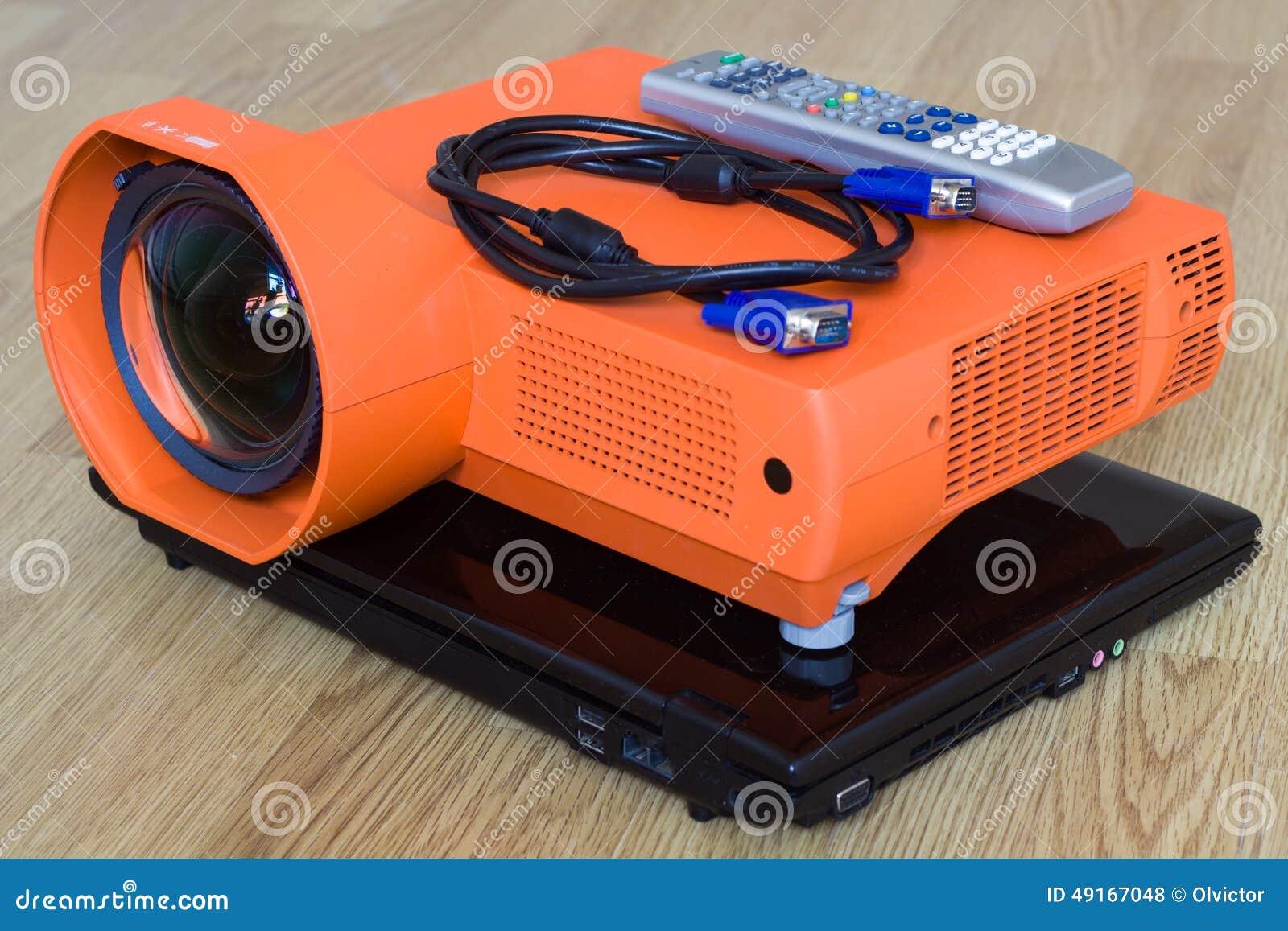 Multimedialny projektor i wszystko ono fałdowy