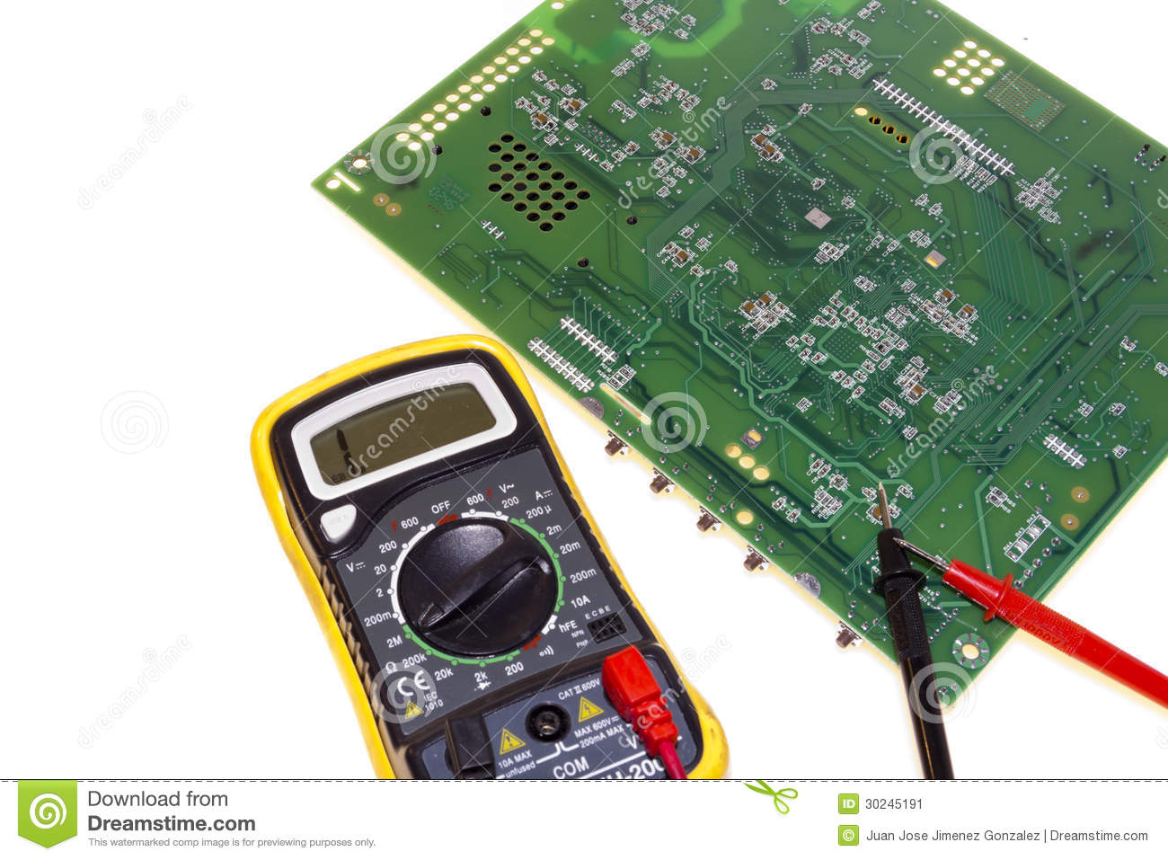 Measuring Electrical Equipments : Multimeter special electrical measuring equipment stock
