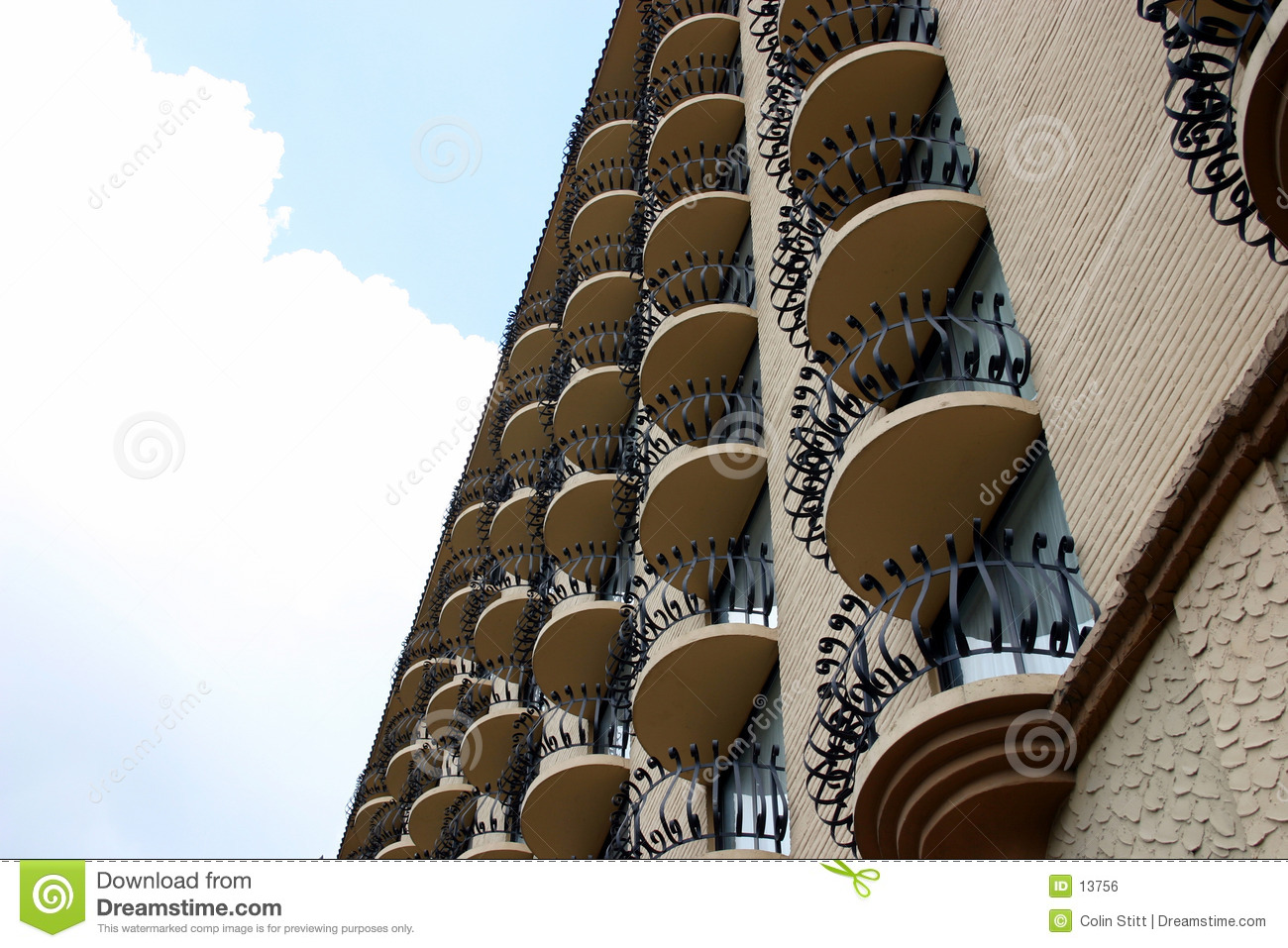 Multiple balconies 1